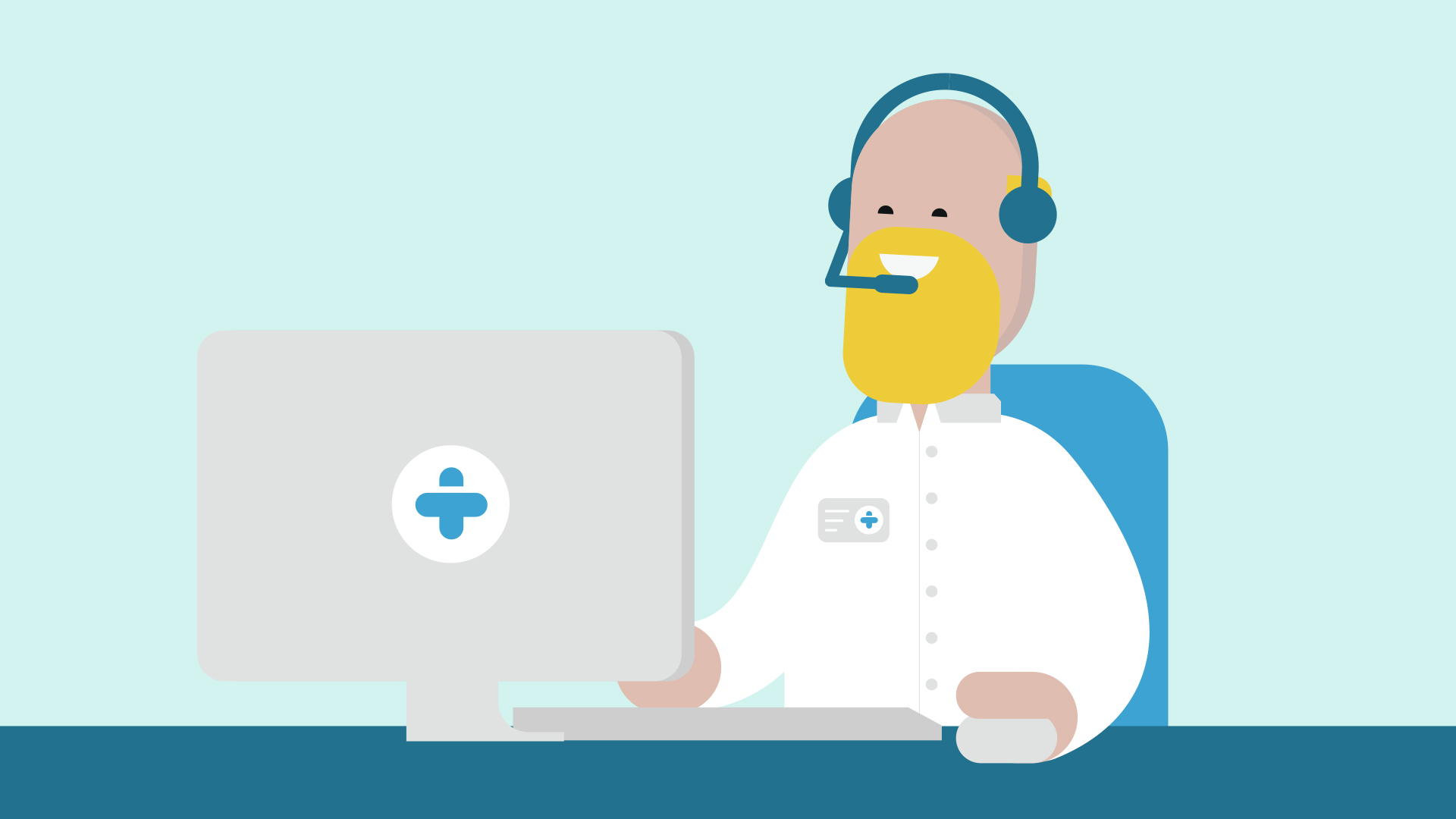 call center, customer servise, character - TREATED---PHARMACEUTICAL,-MEDICAL-PRESCRIPTION-SERVICE---Young-Illustration-&-Animation-Studio-Manchester-2D.jpg