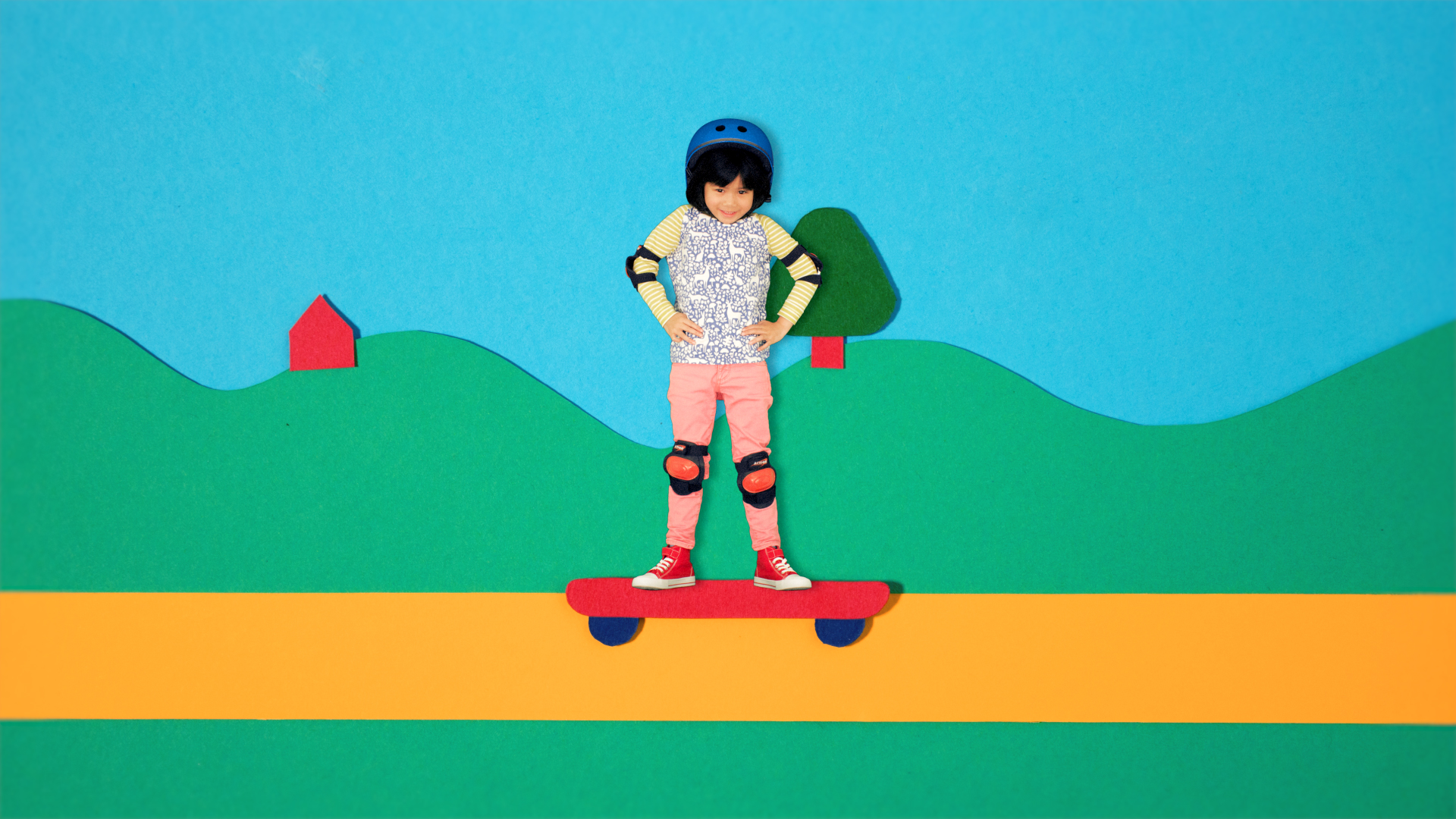 SKATEBOARD - cbeebies, stop motion for kit and pup---young-illustration-and-animation,-paper-craft-stop-motion, animated children_00645_00215.jpg