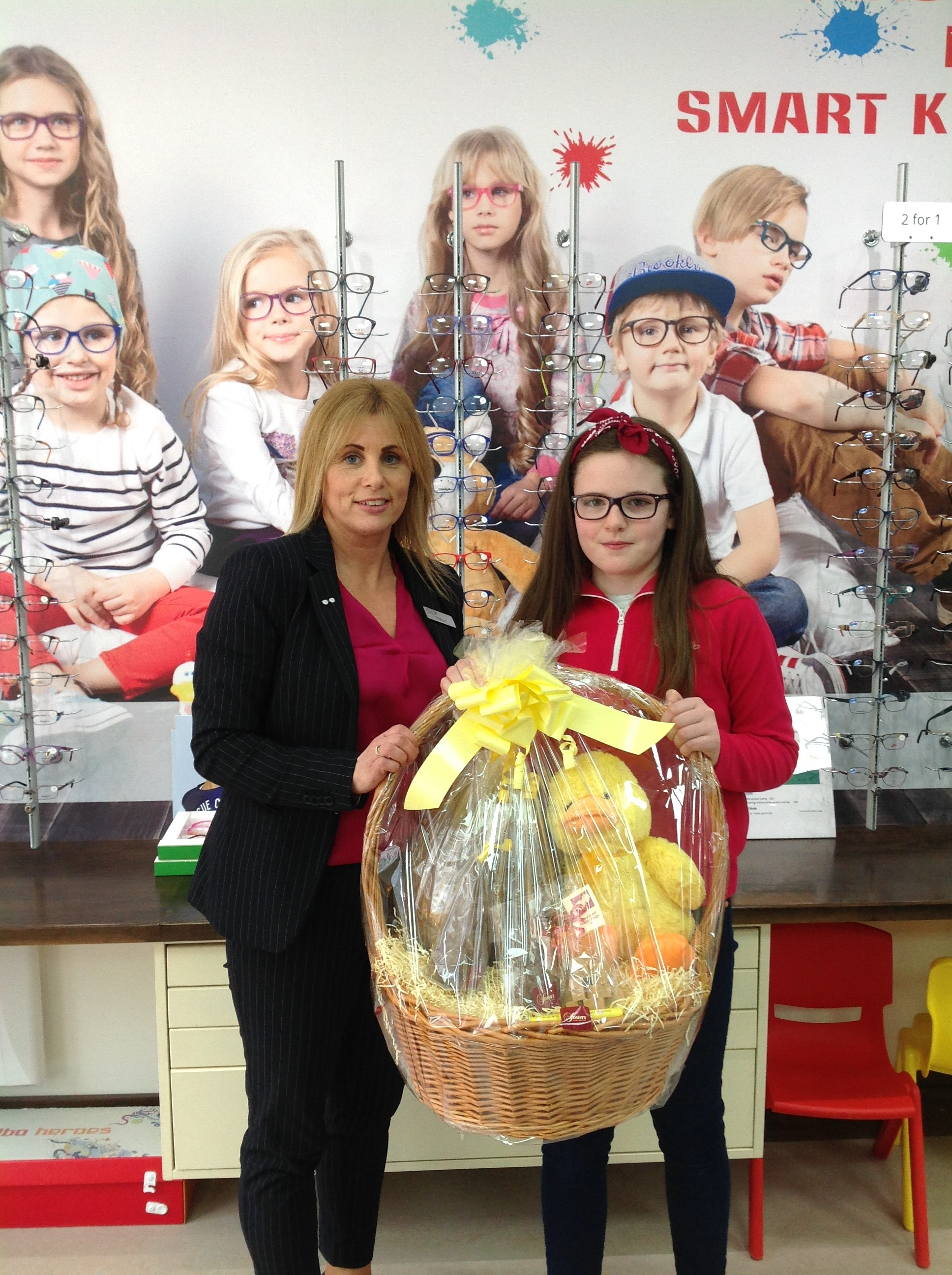 Congratulations to Caoimhe McCarthy who is the winner of our fabulous Easter hamper! - Happy Easter to all our customers and keep an out here for more great competitions!