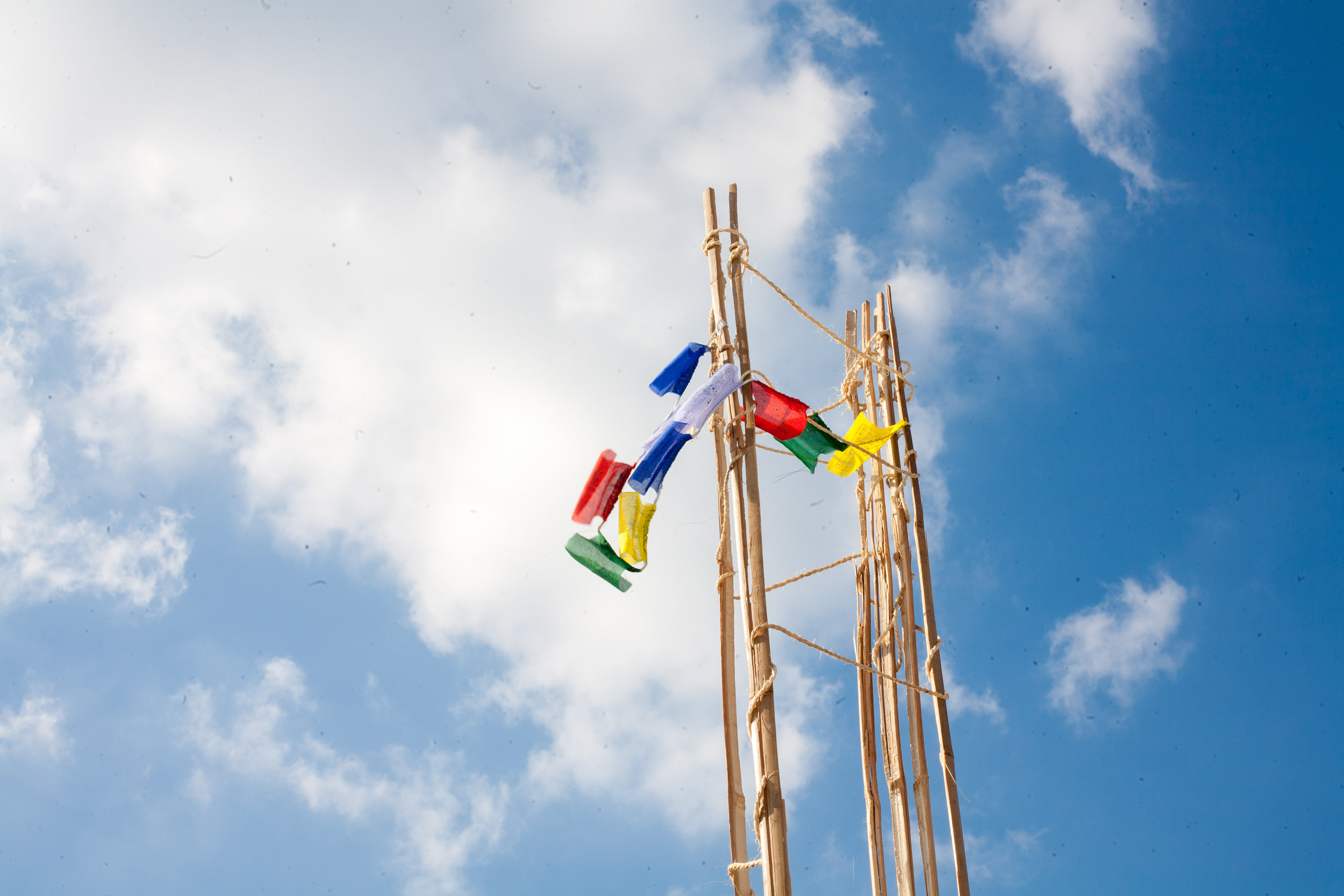 Nepal flags
