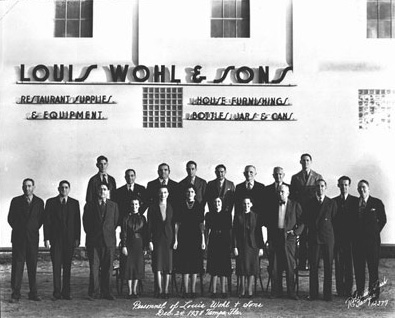 The history of Louis Wohl in Ybor.