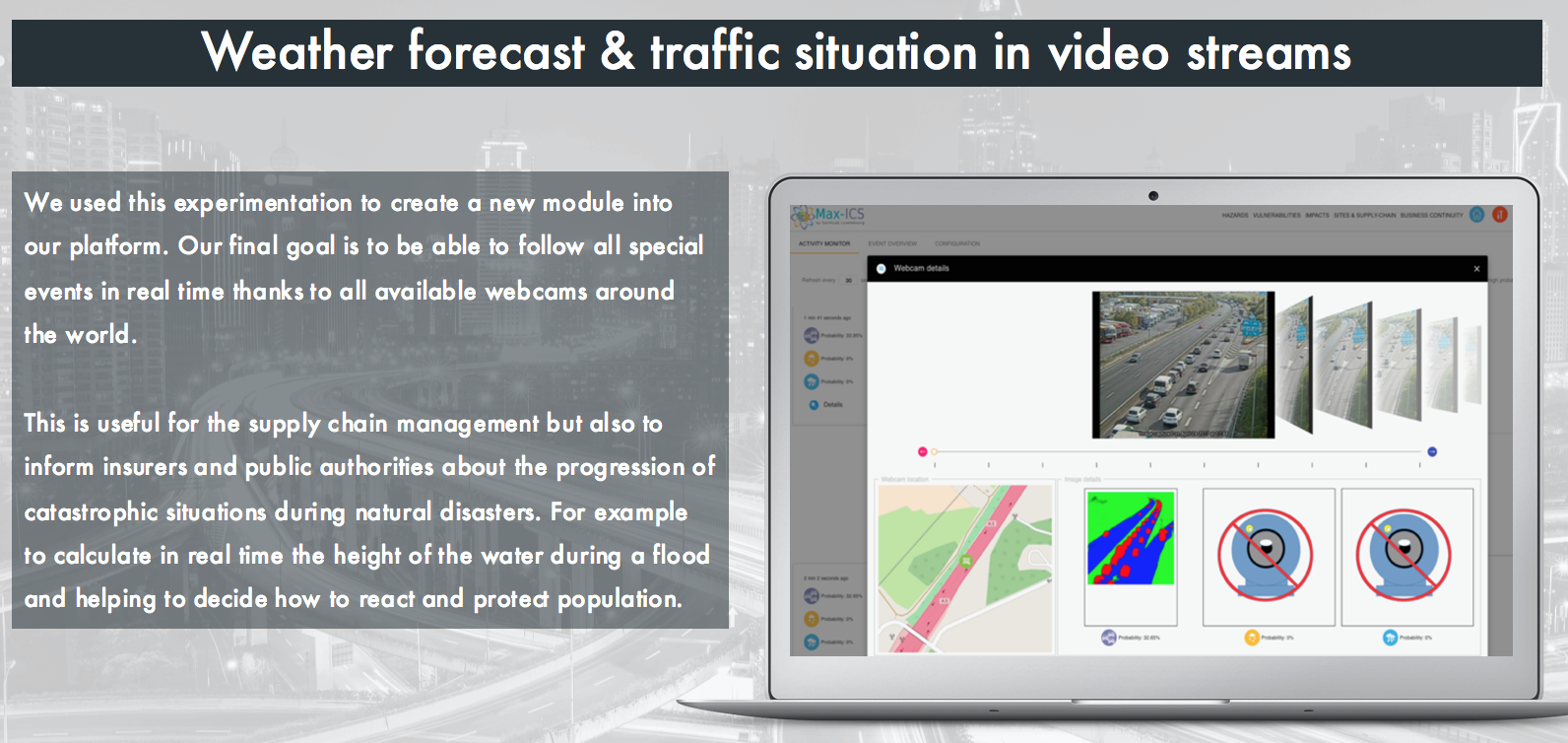 Webcam analysis