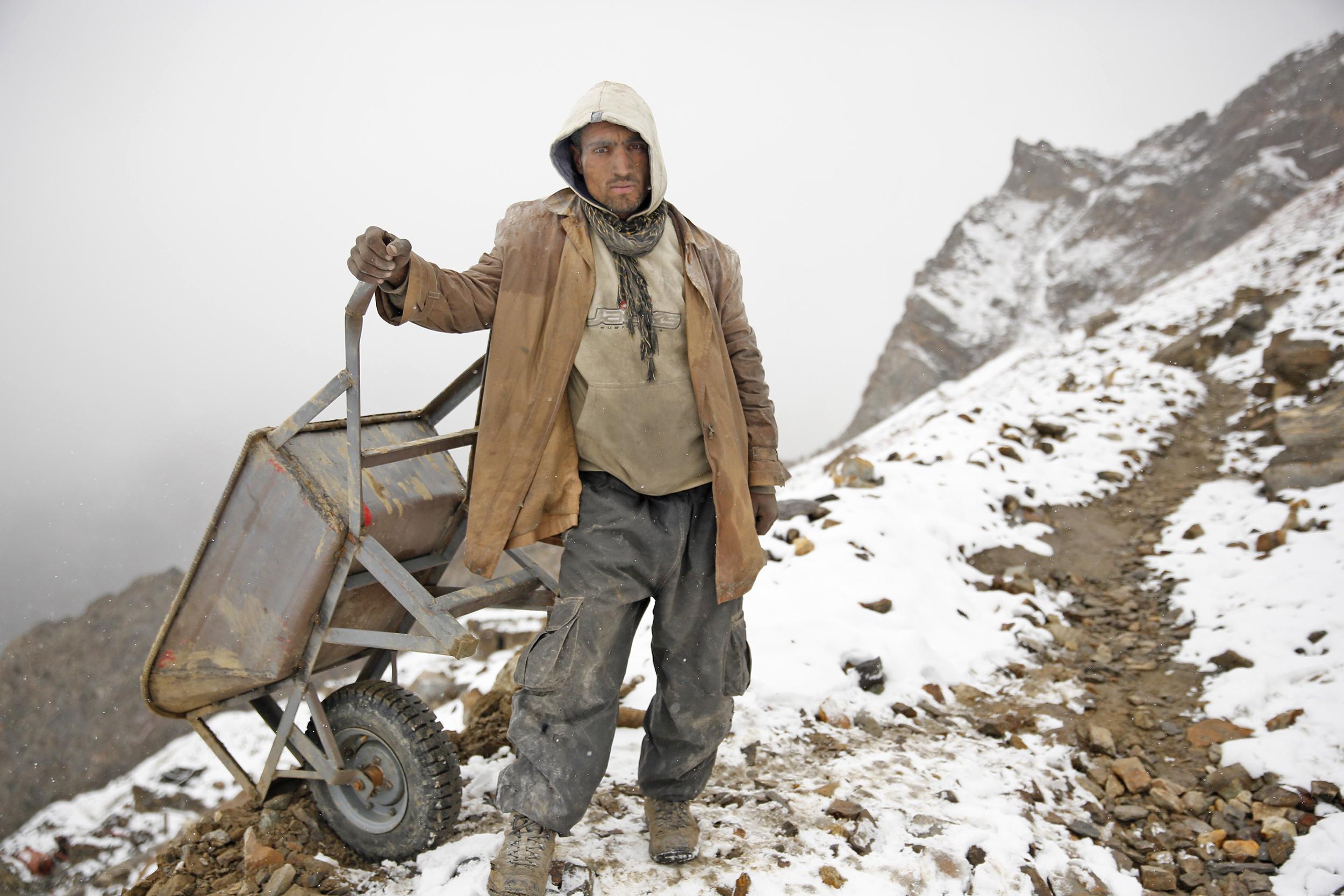 Miners' Camp, Northern Pakistan, 2015