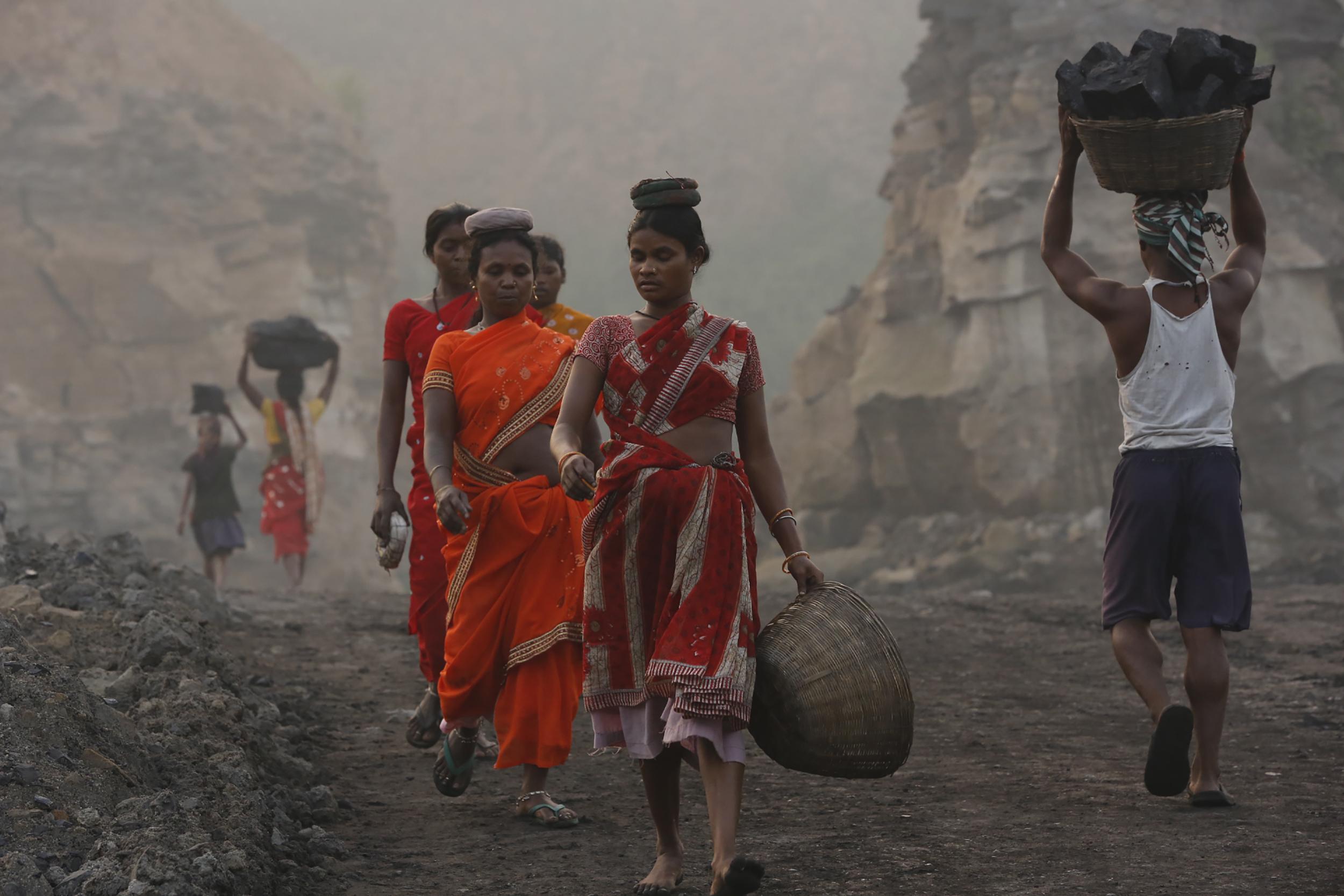 Coal Scavengers, Eastern India, 2013