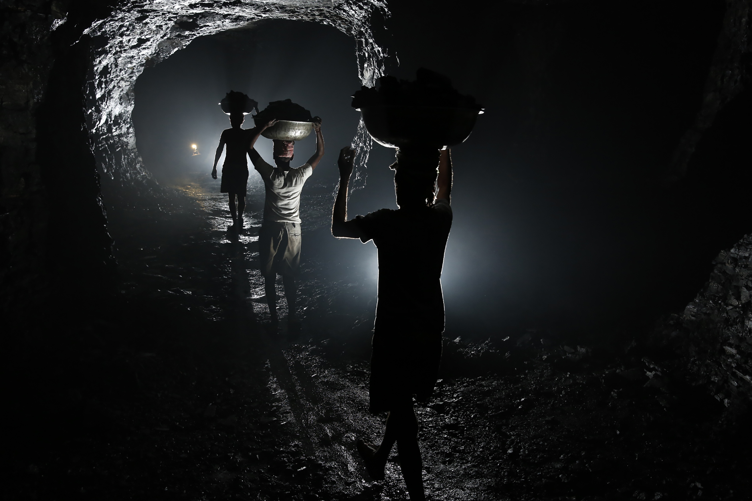 Underground Coal Bojharis, Eastern India, 2013