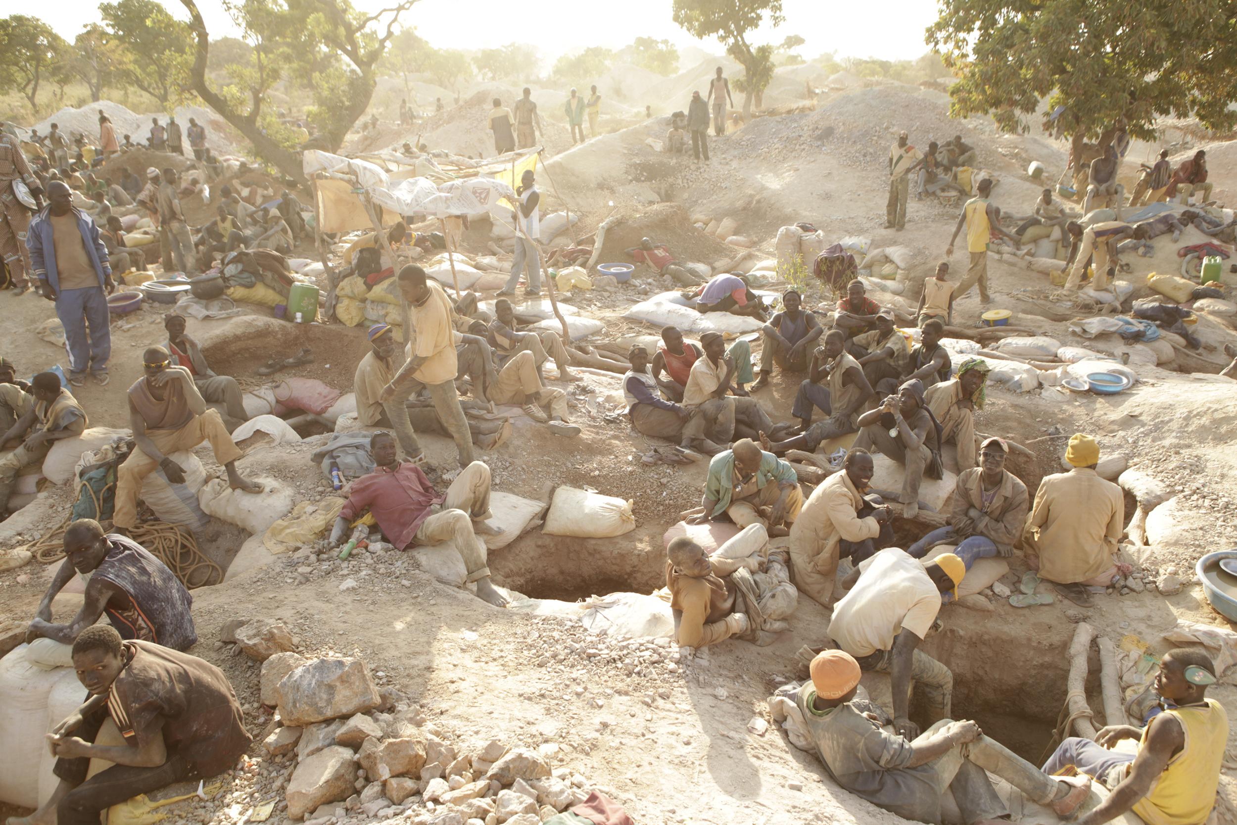 Gold Workings, Burkina Faso, 2010