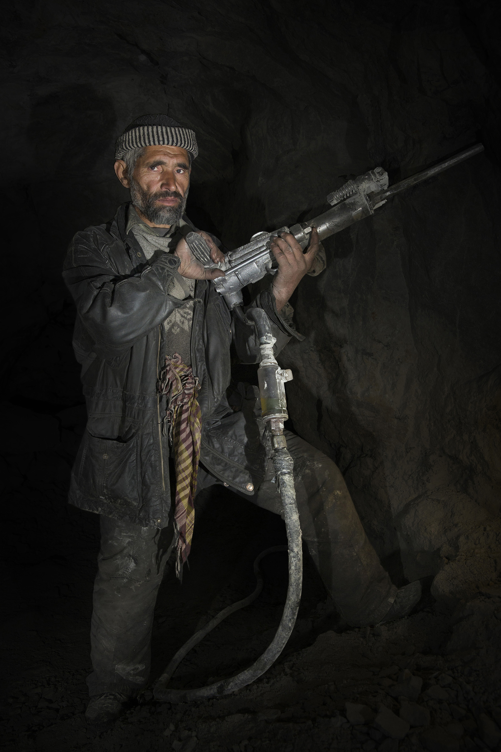 Gemstone Miner, Northern Pakistan, 2015