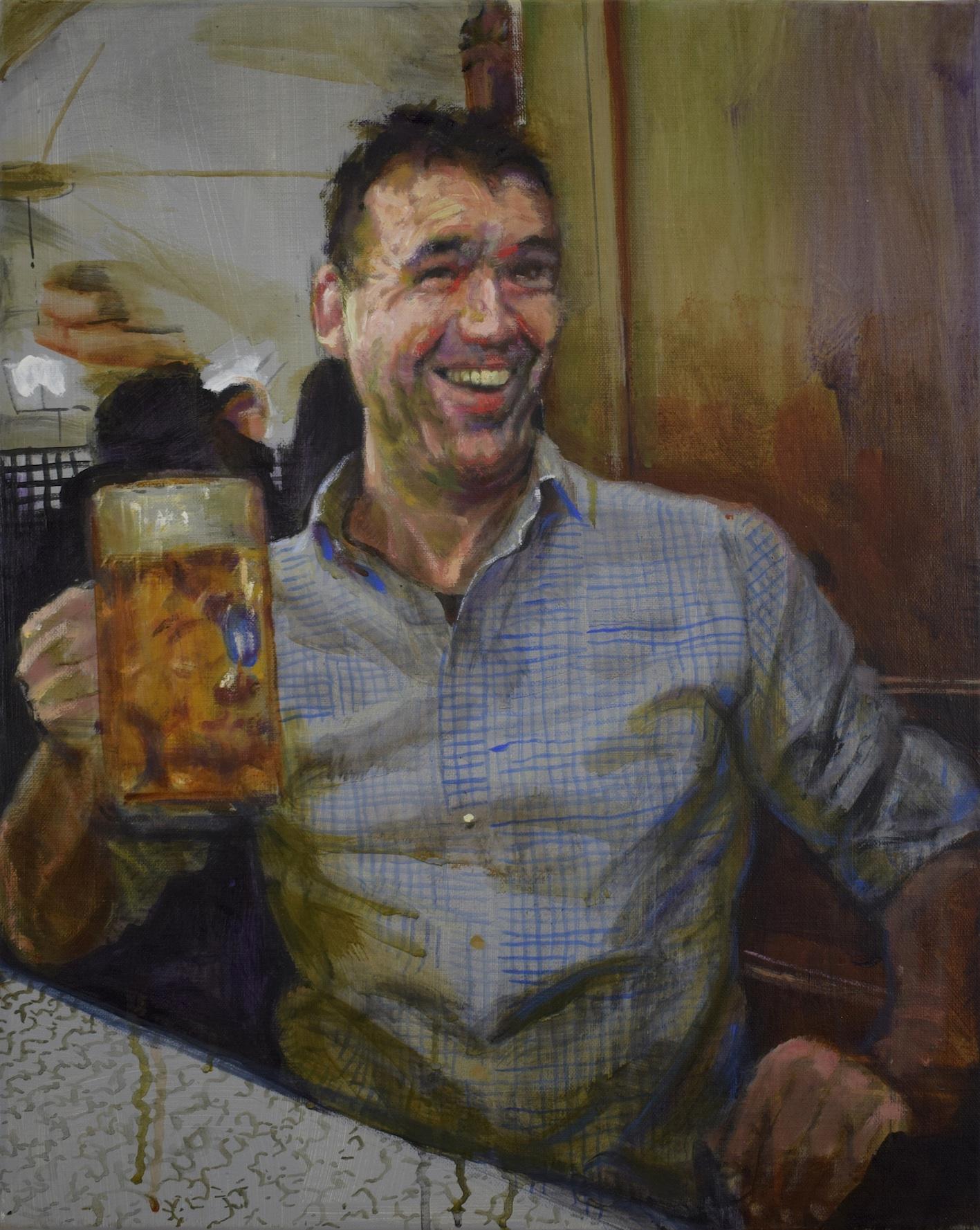 Self Portrait as a German