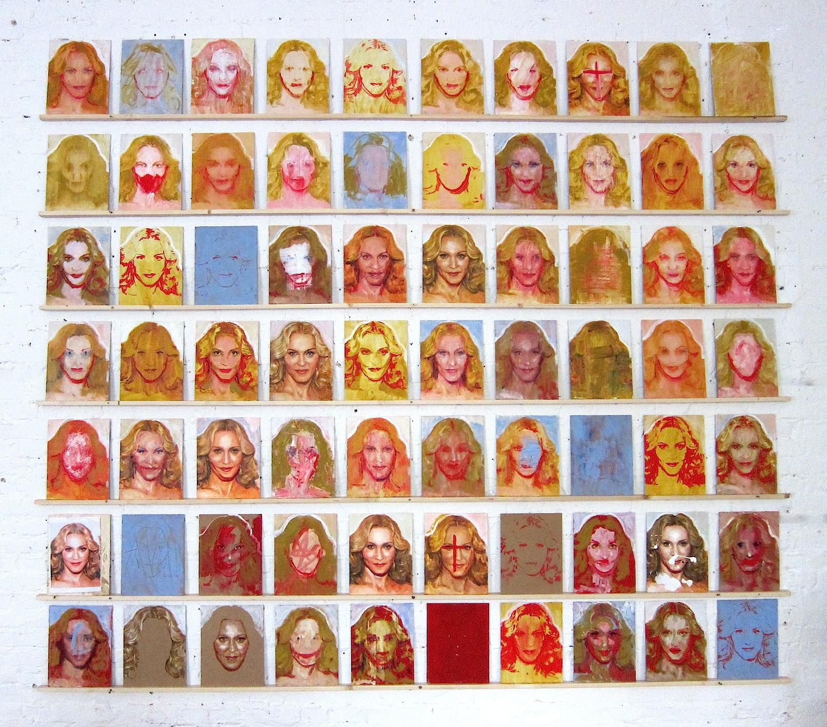 70 Madonnas
