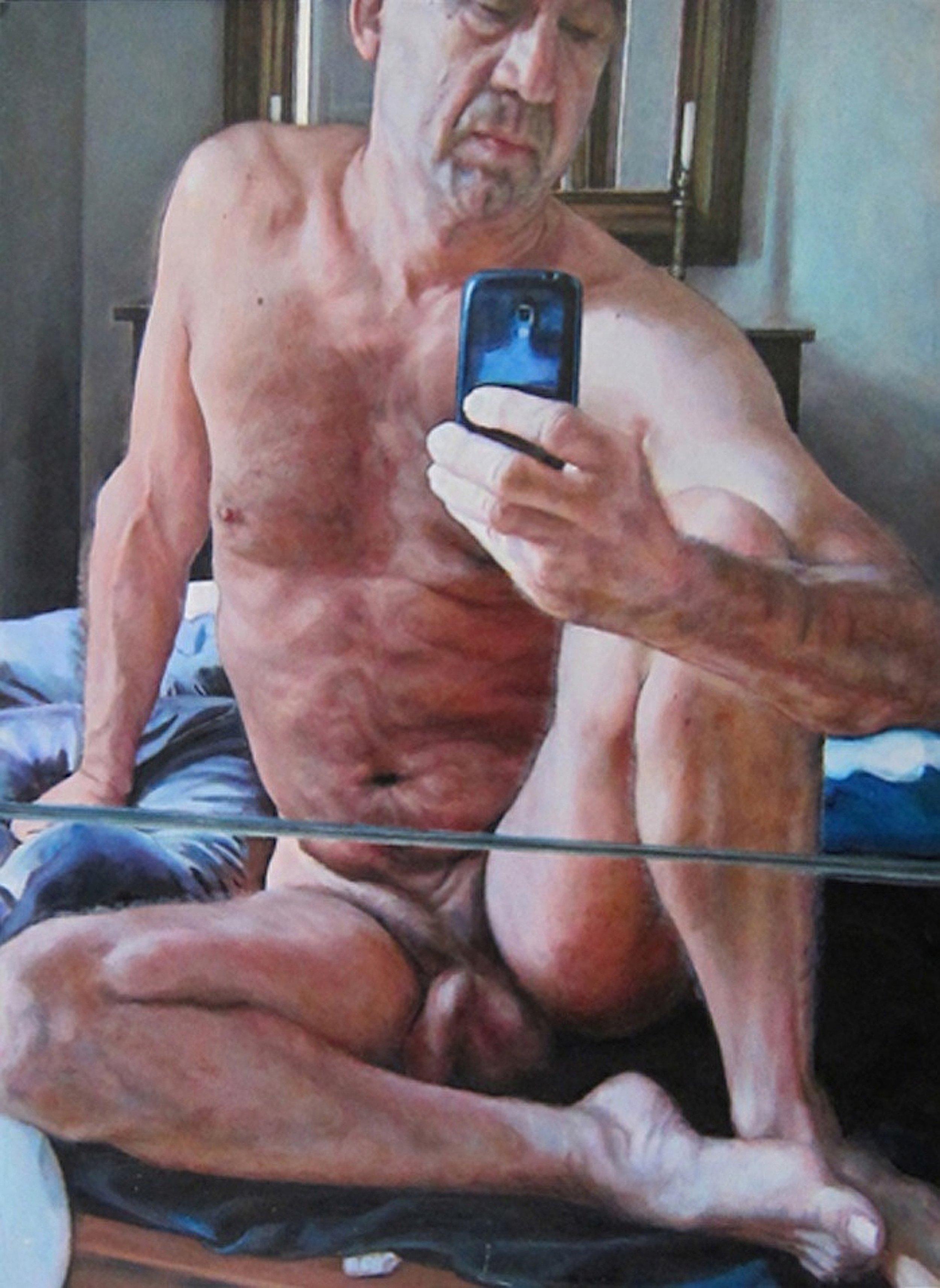 Nude Selfie Portrait