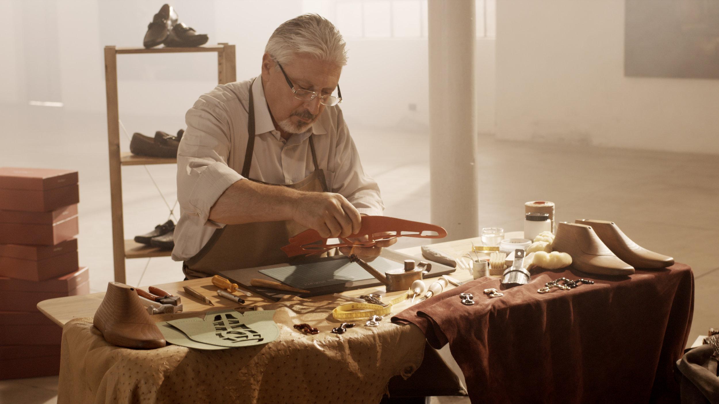 Salvatore Ferragamo Driver Shoes and craftmanship