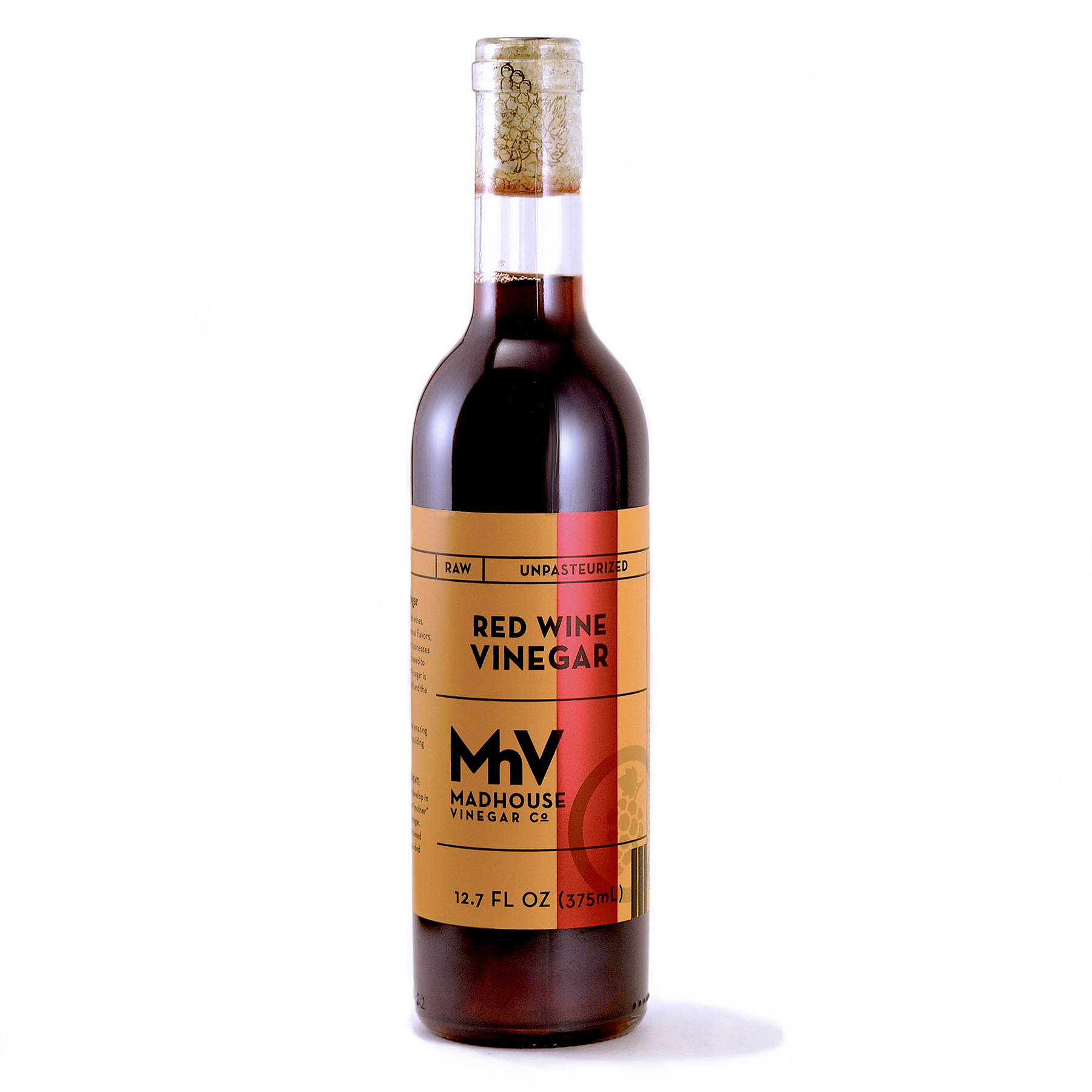 Red Wine - Full round red wine taste with acid tang