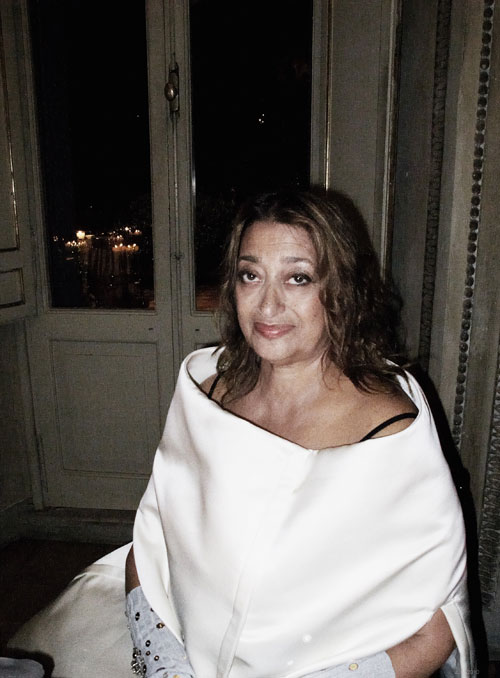 Zaha Hadid and Her MAXXI Museum in Rome