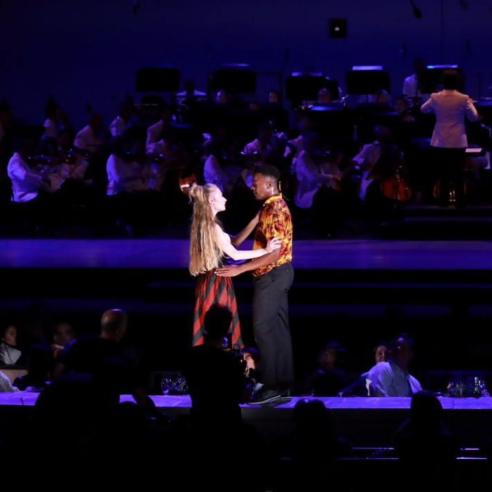 Romeo and Juliet: Benjamin Millepied breaks the fourth wall at the Hollywood Bowl