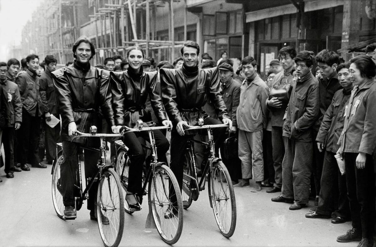 Models wearing _Pagoda_ jackets in China, 1979.jpg