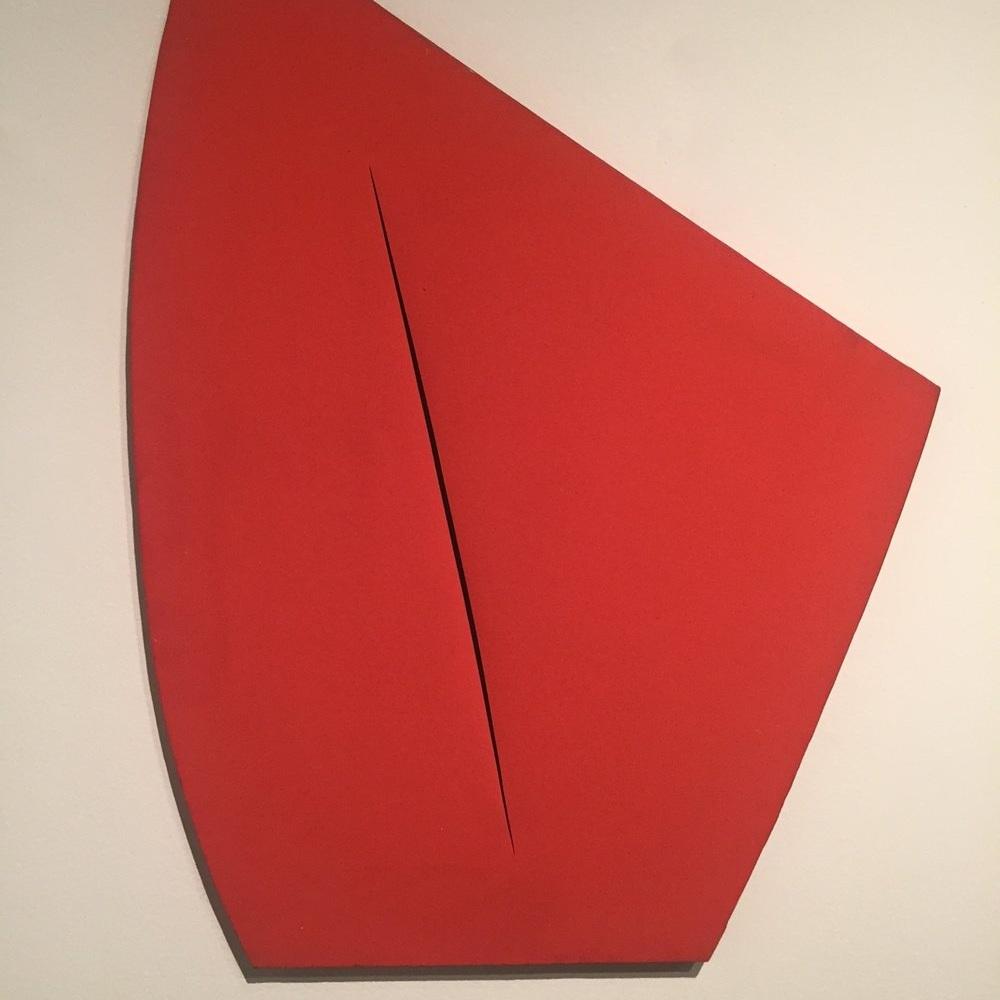Lucio Fontana: On the Threshold at the Met Breuer