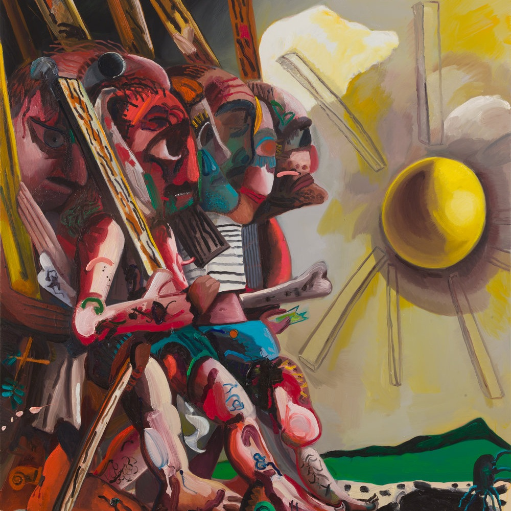 Dana Schutz at Petzel Gallery: Imagine Me and You