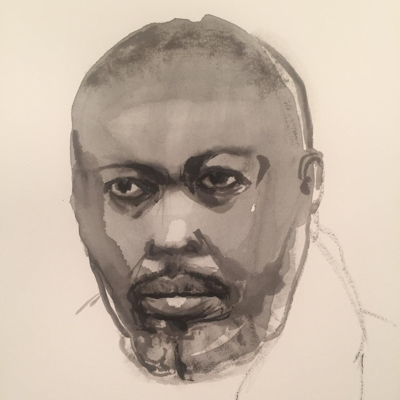 God Made My Face: James Baldwin via Hilton Als at David Zwirner