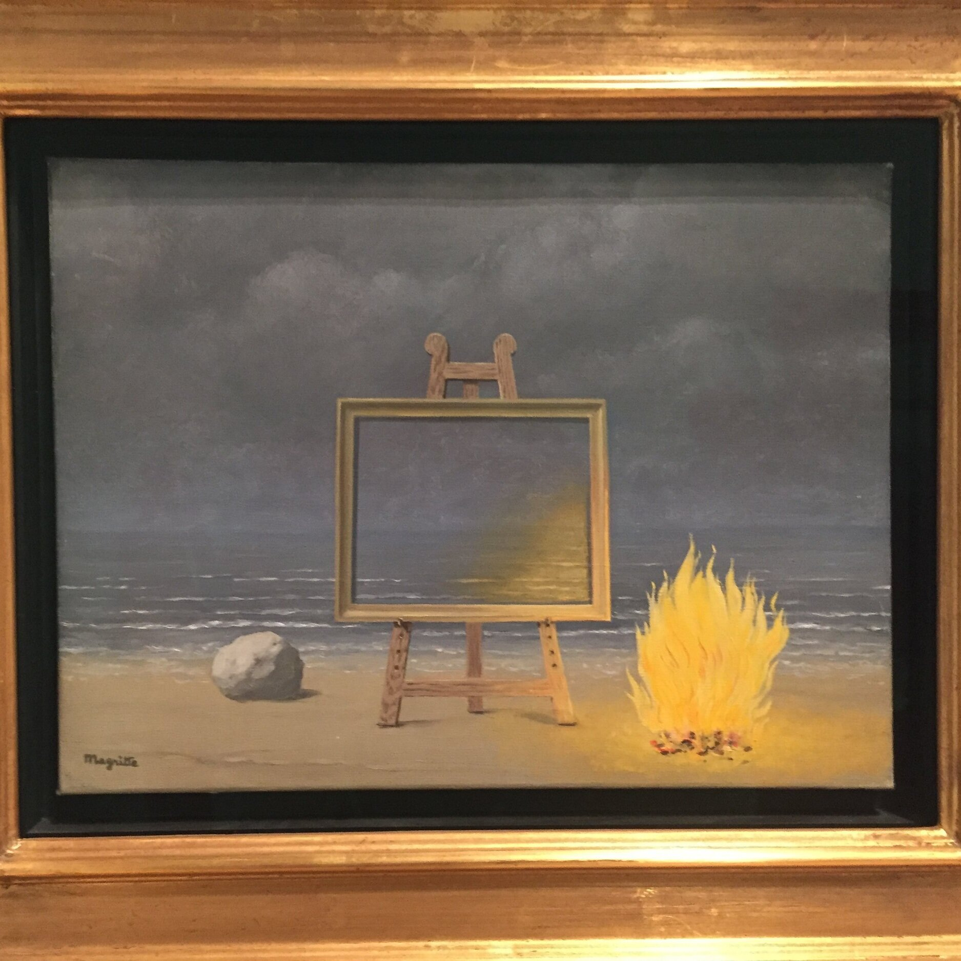 Magritte's The Fifth Season, an exhibition of late work at SF MoMA has some surprises