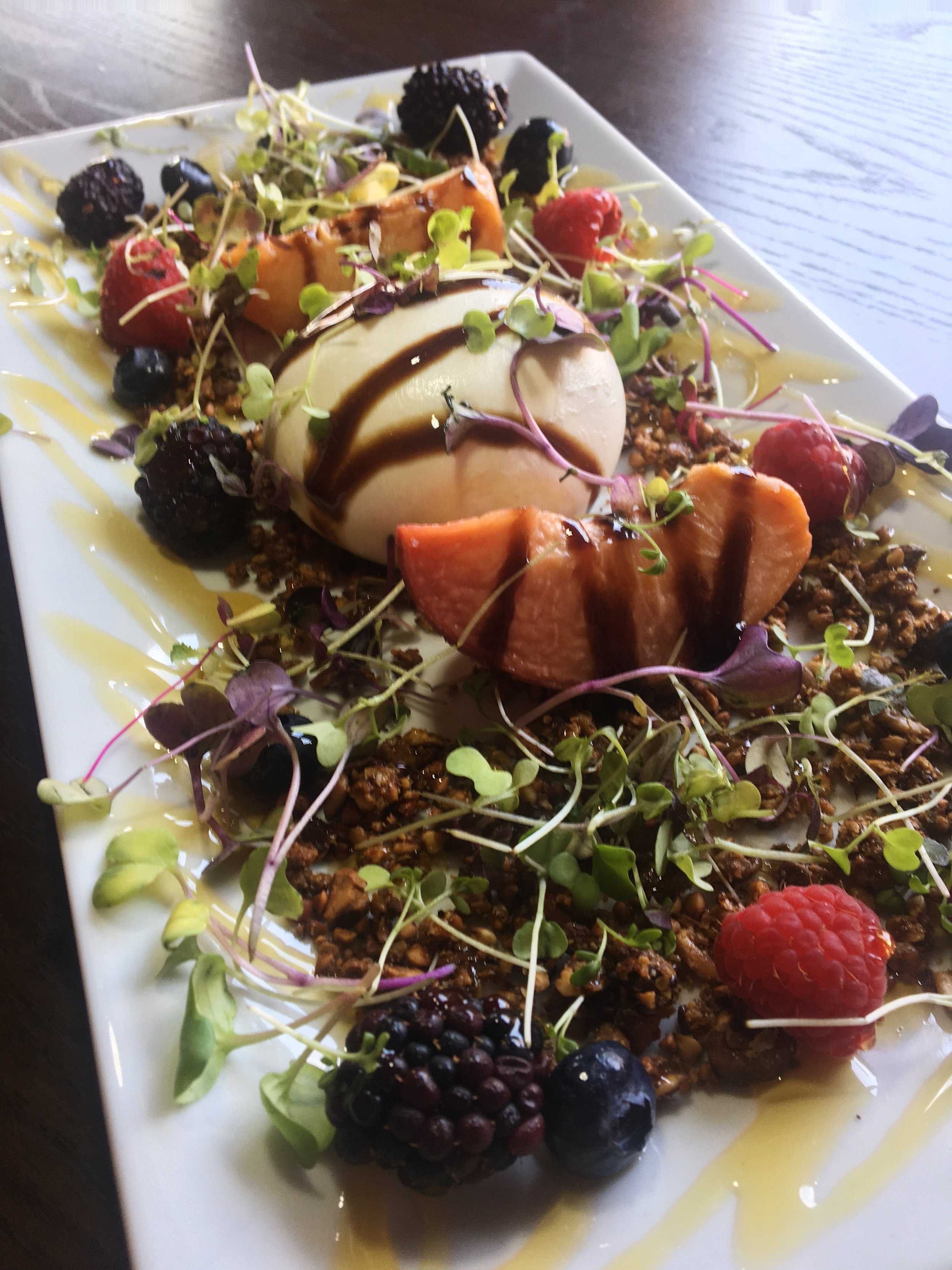 LI Fashionable Foodie - That Meetball Place Burrata Salad