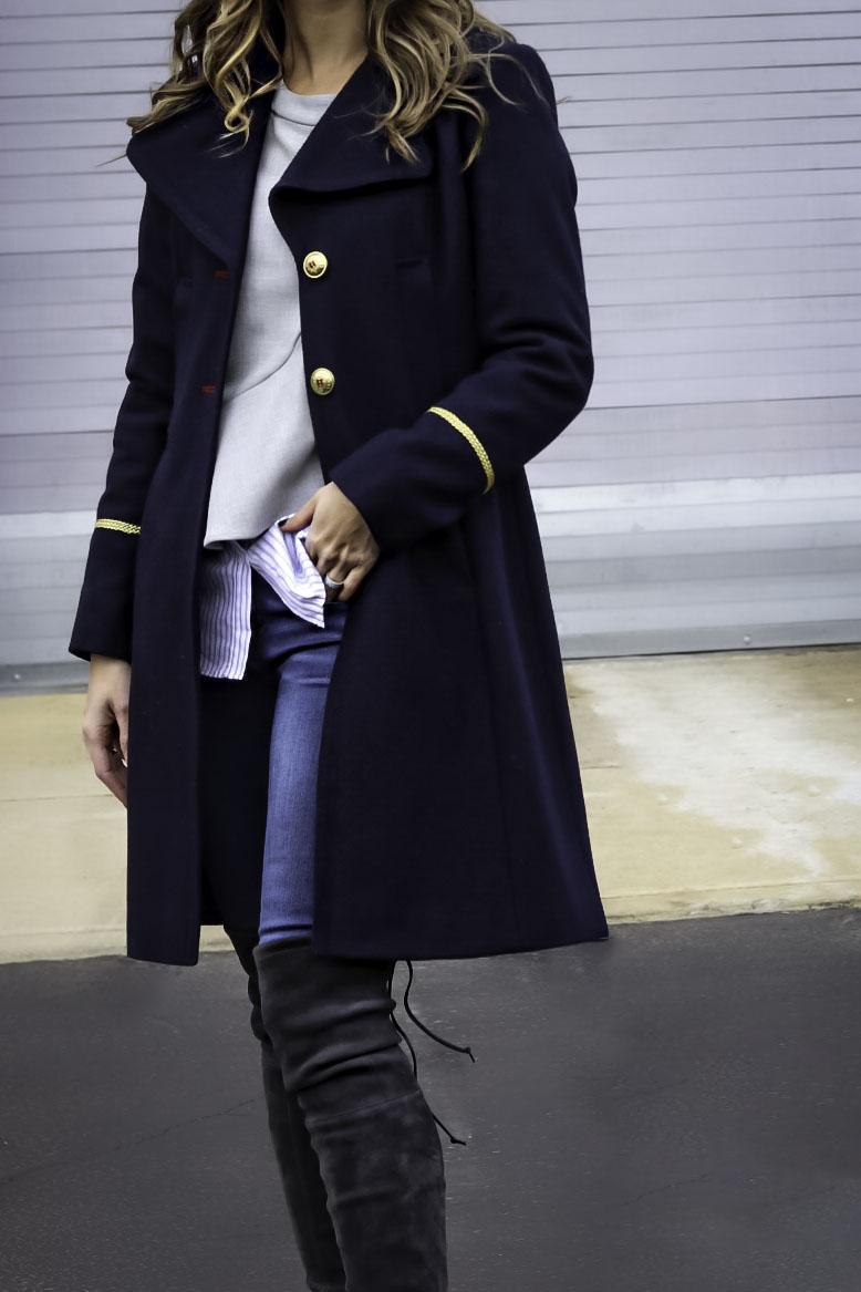 military coat fashionablefoodieny
