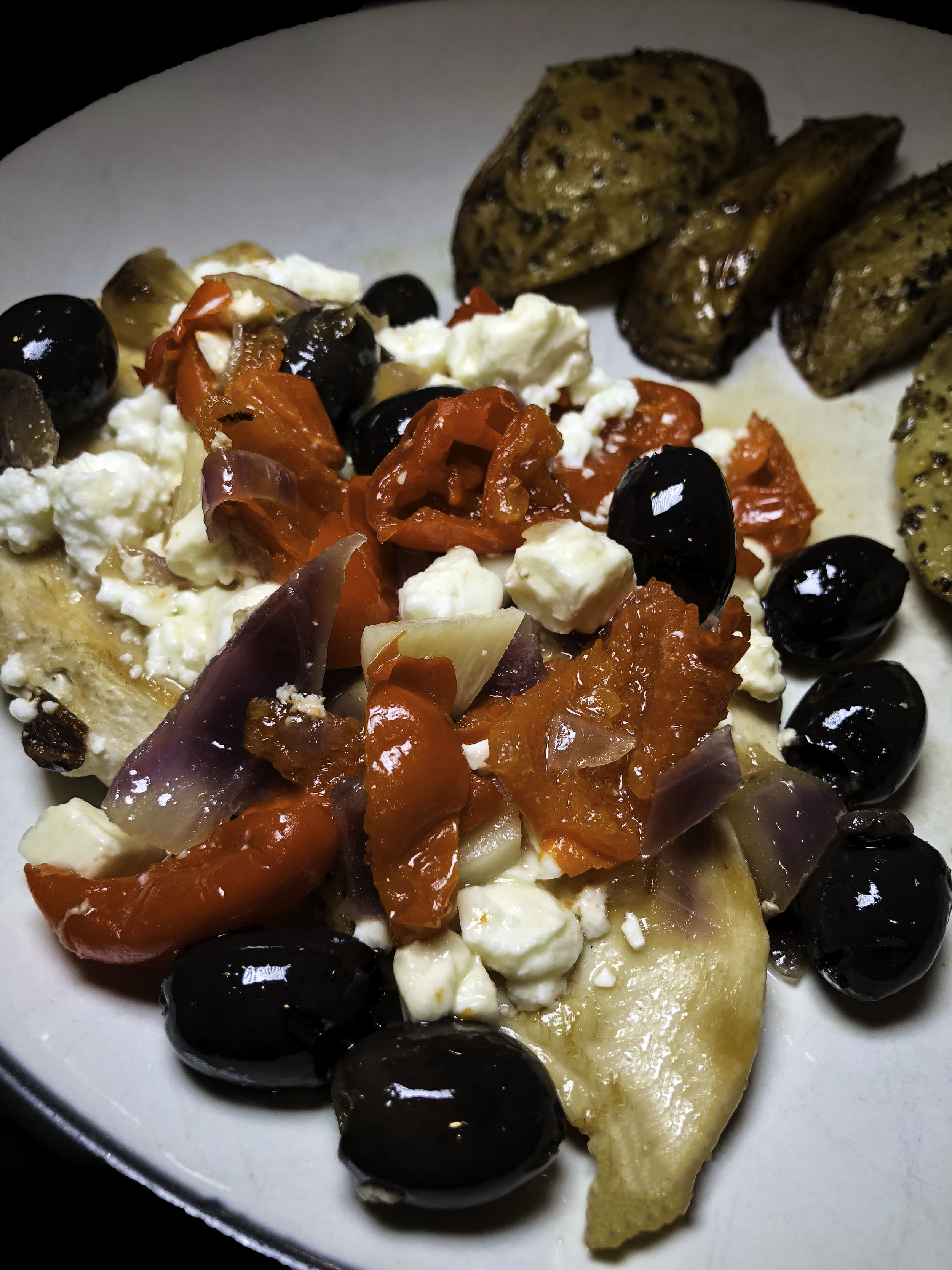 Mediterranean chicken fashionablefoodieny