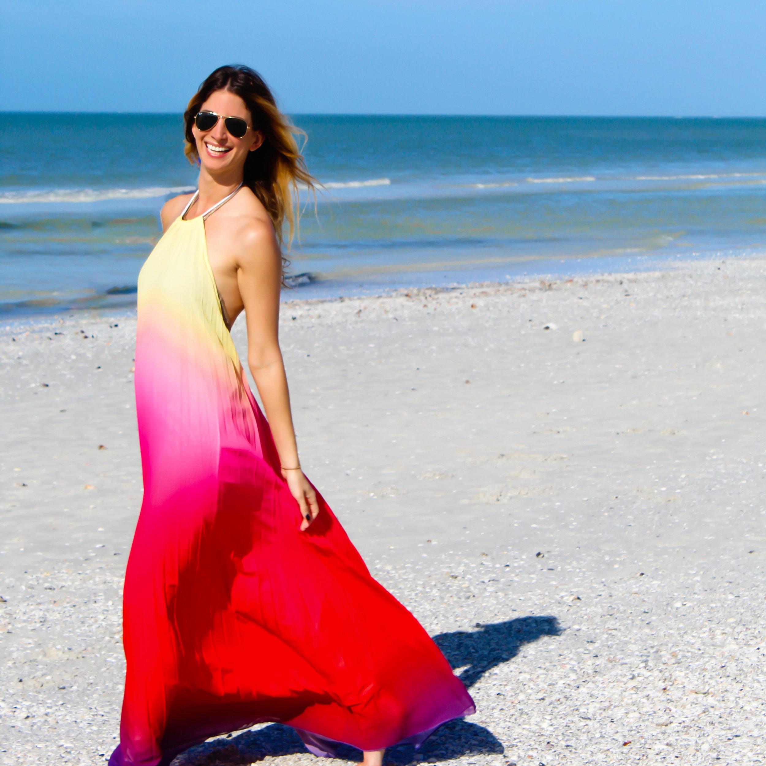 Dress: Shein Sunglasses:  Ray Ban