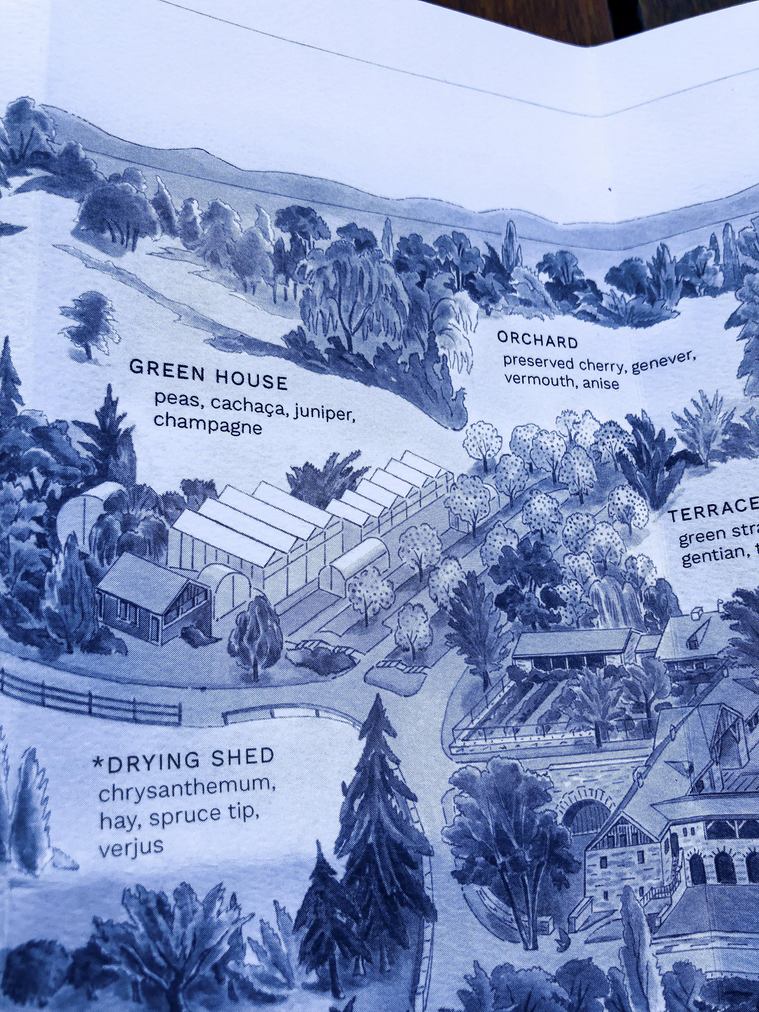 Blue Hill at Stone Barns drink menu