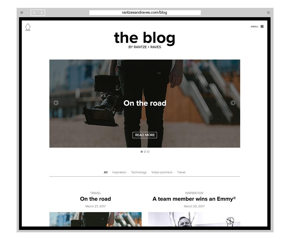 Rantze + Raves Blog