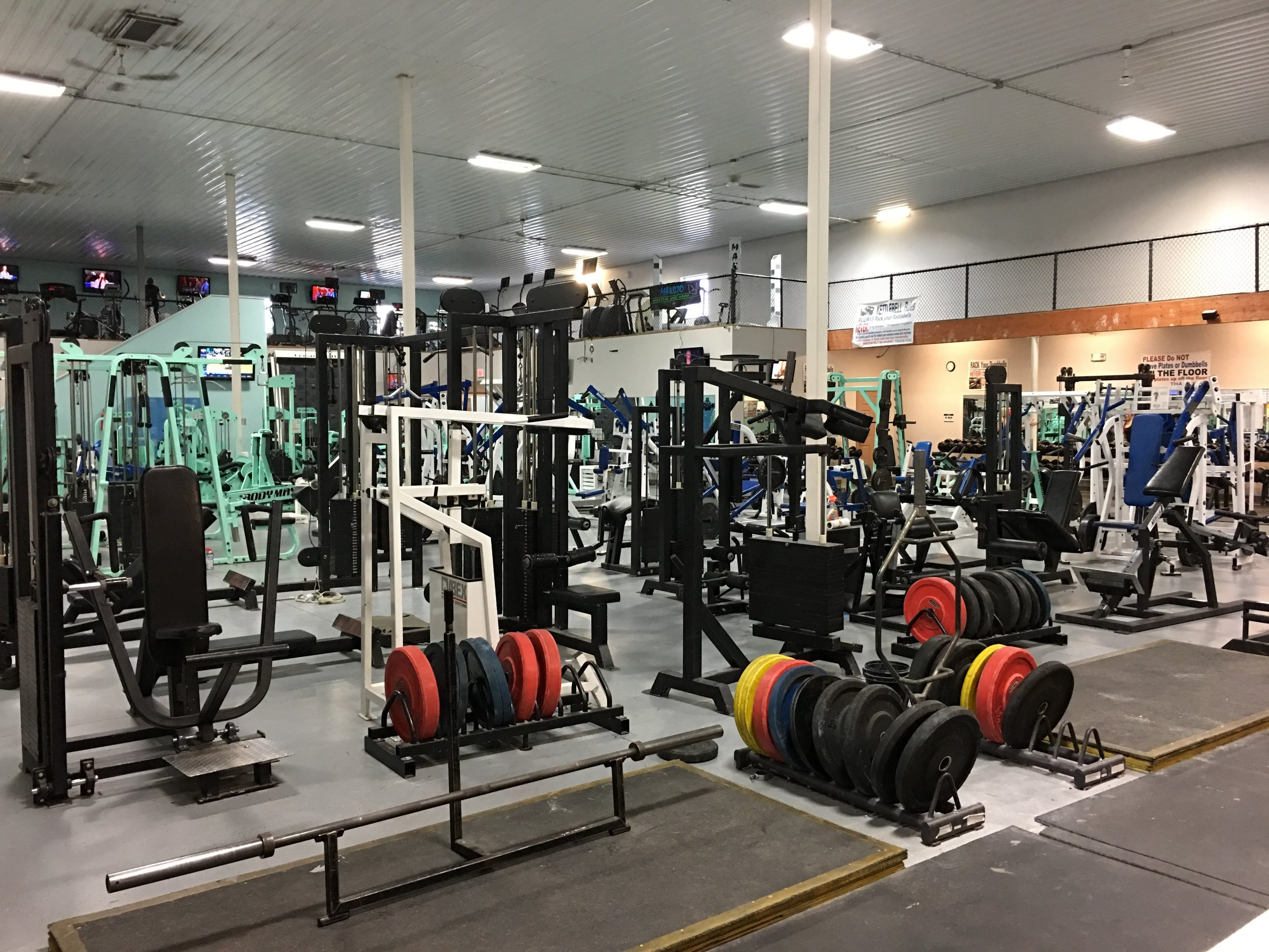 1st Floor Weight Lifting & Training