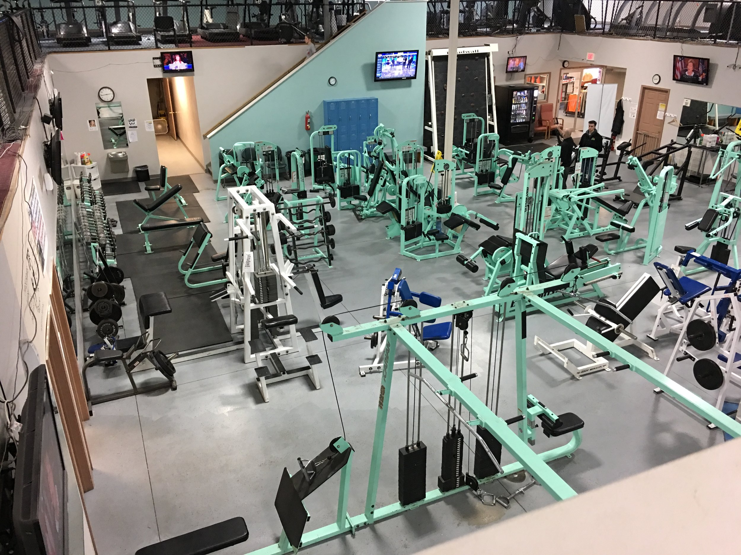 Weight Lifting & Training Area