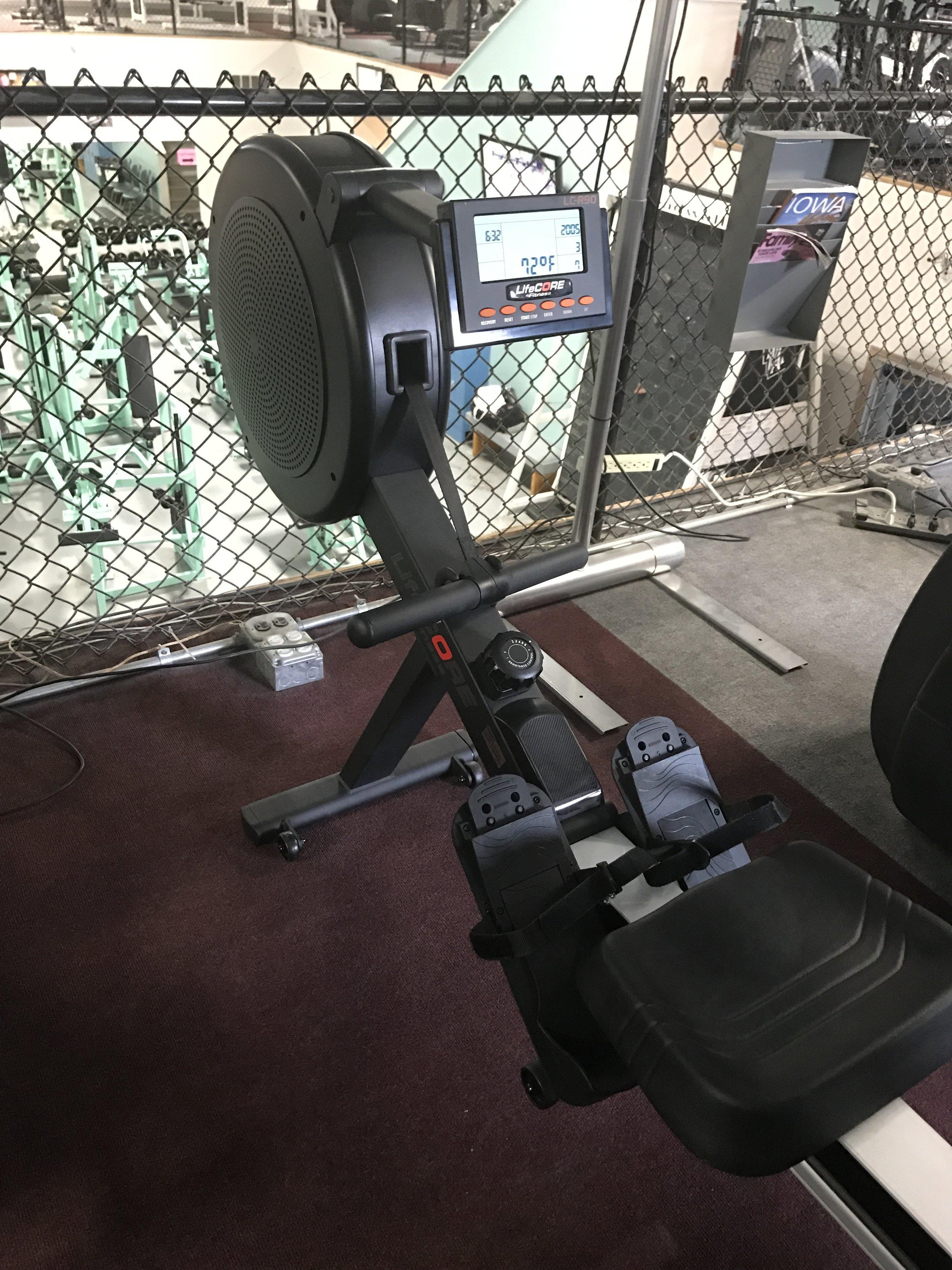 NEW LifeCORE Rower