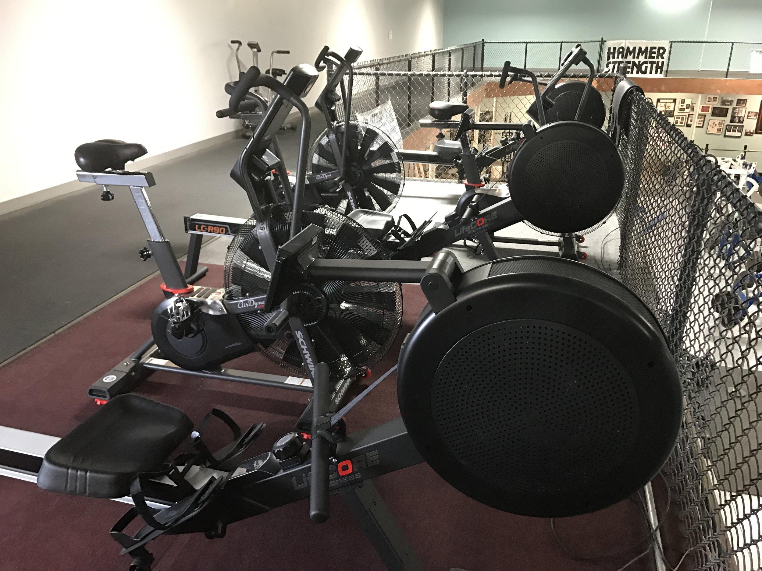 NEW LifeCORE Rowers & Schwinn Bikes