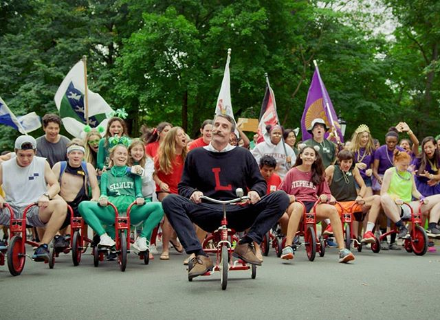 Ever wonder what your Headmaster would look like on a tricycle? The Lawrenceville School knows.  Check out our new video: bit.ly/2R9Rh1N -------------------------------------------------------------------------- #contentmarketing #digitalmarketing #contentcreator #schoolvideo #boardingschool #boardingschoollife #headmaster #tricycle #headofschool #schoolspirit #education #educationfirst #gobigred