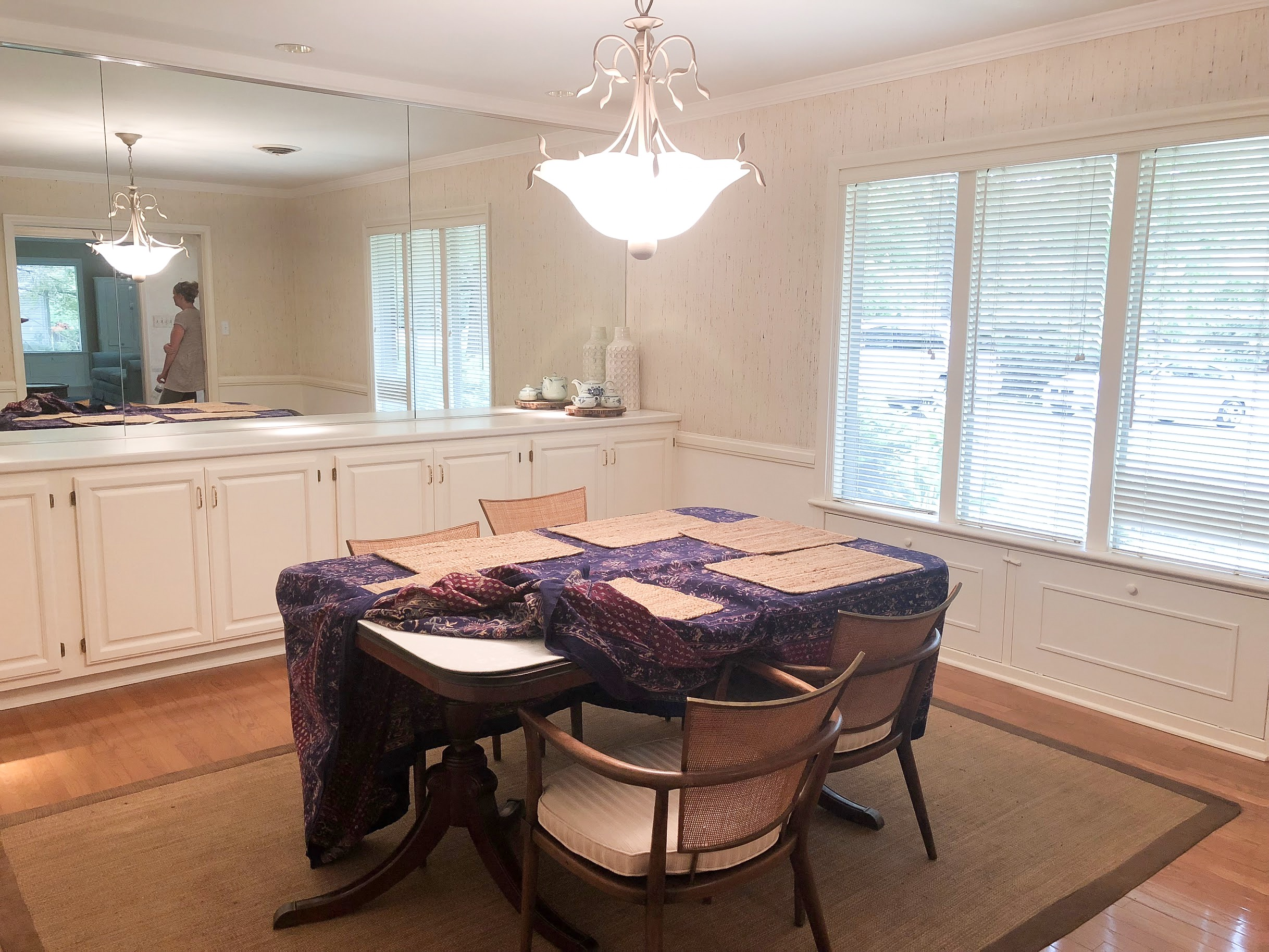 outdated dining room