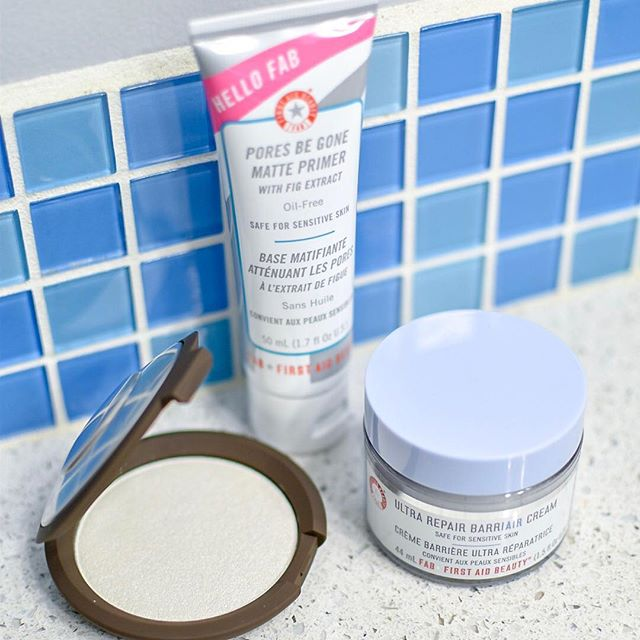"[#firstaidbeautygiftedme #beccacosmeticsgiftedme] As you all know, I love trying out new beauty products. I've been needing a new primer and moisturizer, so I've been using @firstaidbeauty's Hello Fab Pores Be Gone Matte Primer and the Ultra Repair BarriAir Cream. First of all, the primer smells amazing and it helps to make my skin look soft and smooth. The BarriAir Cream is awesome for hydration and feels so lightweight. I'm super impressed with both of these products.  I've also been loving the Shimmering Skin Perfector Pressed Highlighter from @beccacosmetics. The shade I've been using is ""Pearl"". It's soft, luminescent white color that makes my skin look so fresh and glowy - it's definitely a must have for any makeup bag this summer. @firstaidbeauty @beccacosmetics @sephora #firstaidbeauty #beccacosmetics #beccaglow • • • • • • #picoftheday #mua #photography #beauty #instadaily #beautiful #nature #love #fashionblogger #fitness #life #fashion #lifestyle #photooftheday #ootd #smile #photo #happy #selfie #travel #summer #cute #makeup #art #girl"