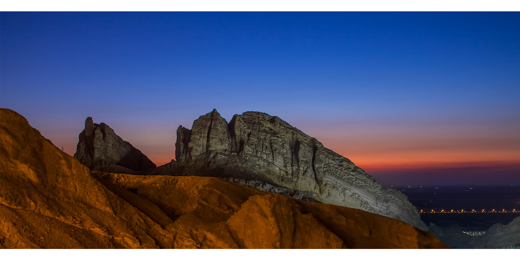 Jebel Hafeet Moutains