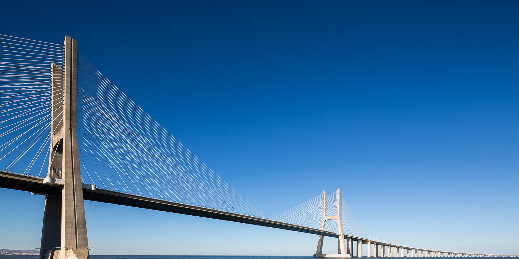 Vasco De Gama Bridge<br> Lisbon-2014