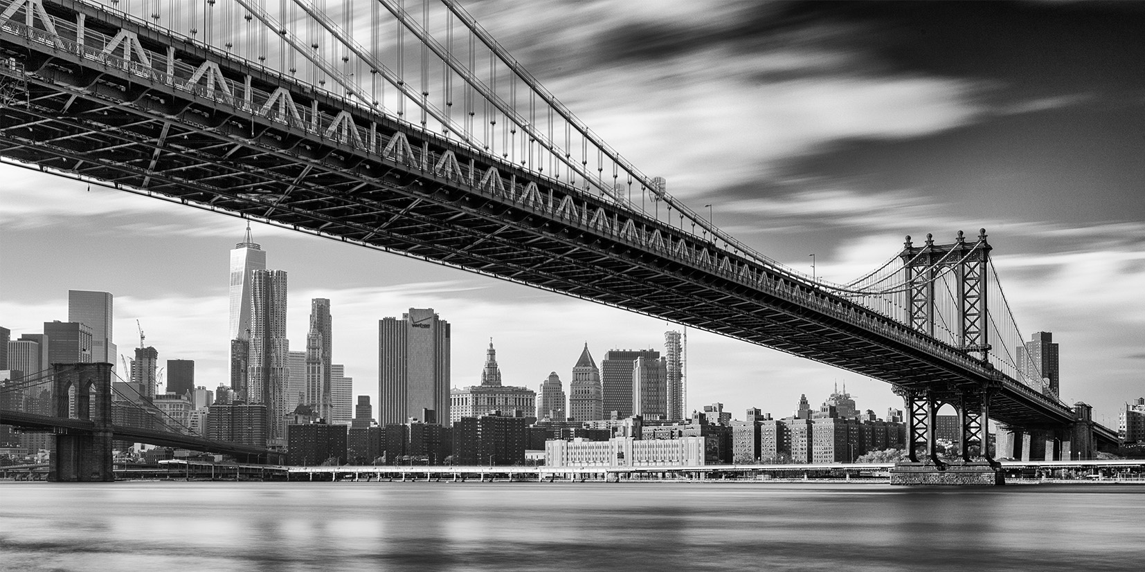 Manhattan Bridge<br> New York 2015