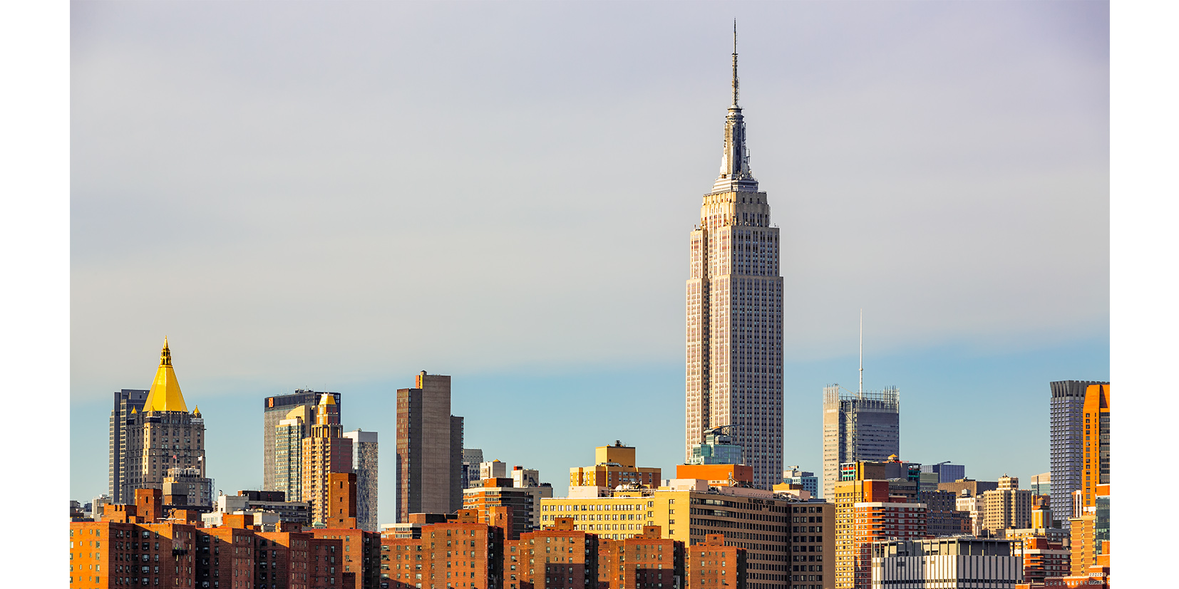 View of Empire State Building - Manhattan - 2015