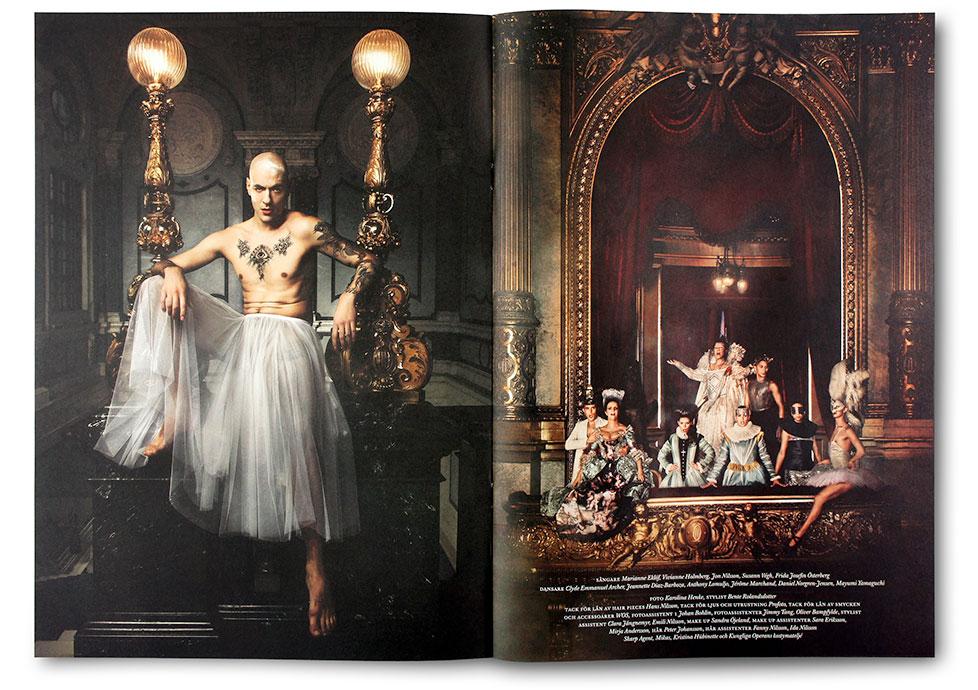Bild från Operans magasin, produktion av Stockholm Graphics