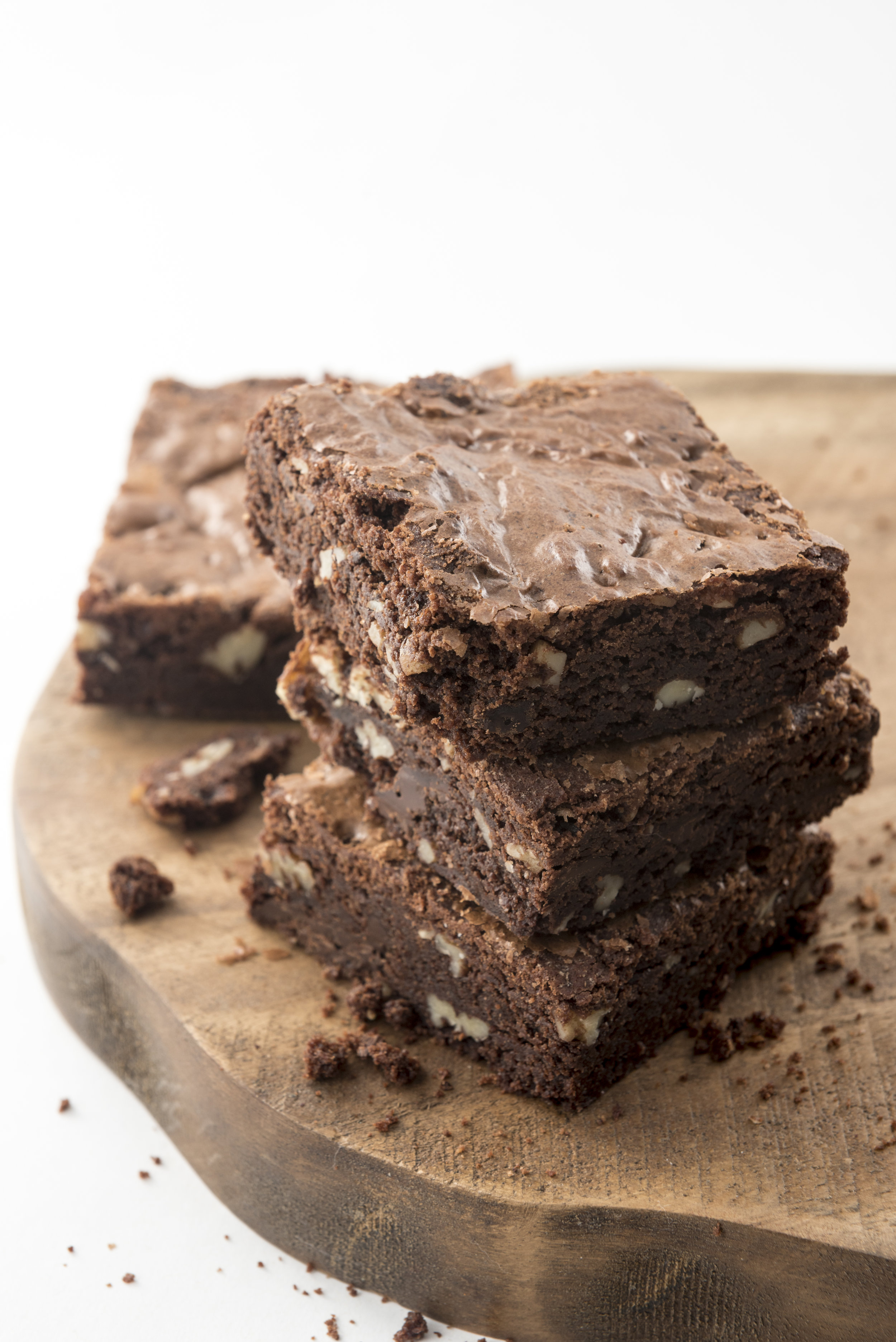 Pecan Chunk Brownies