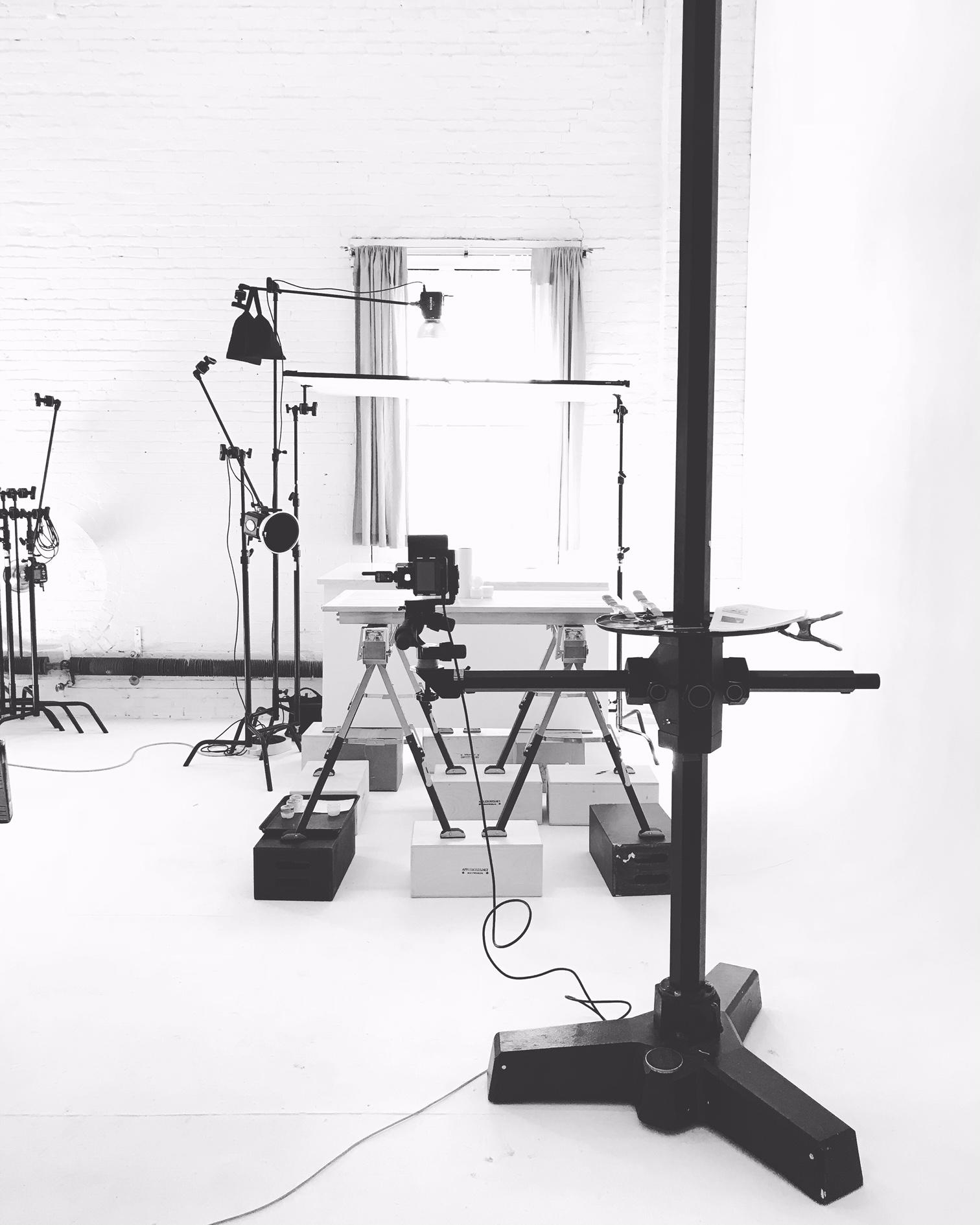 A peek behind the scenes -