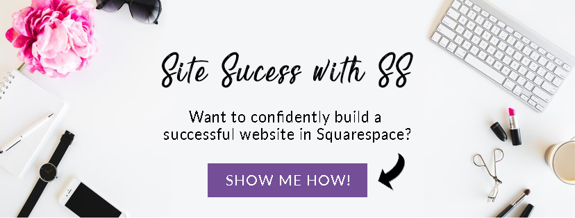how to build a website in Squarespace