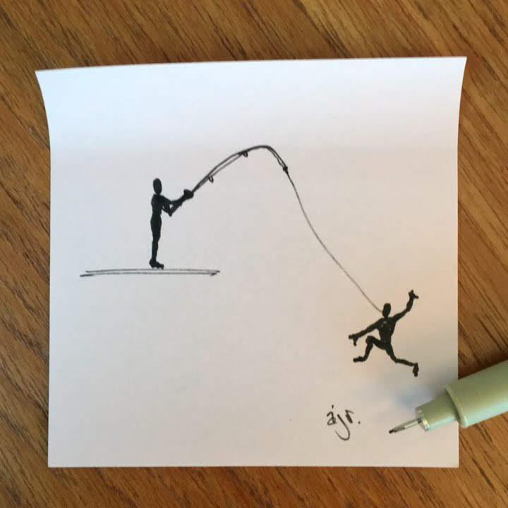 hook, line, and sinker