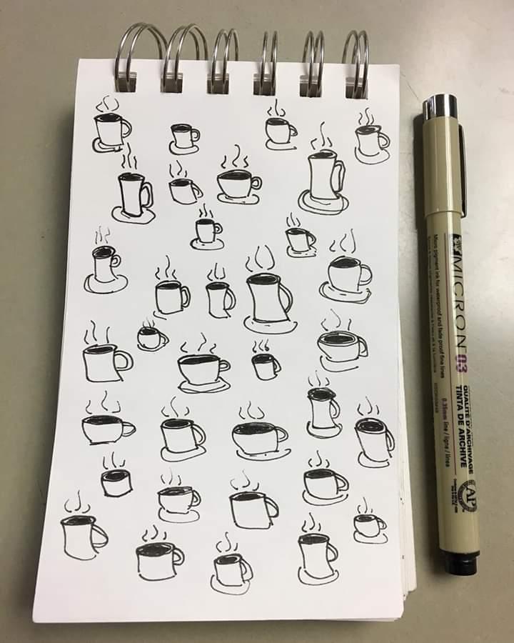 Joe.  Pen and ink