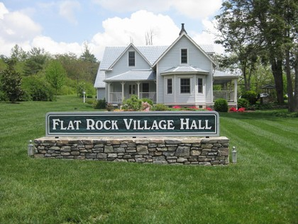 Historic Flat Rock - Flat Rock is located in the beautiful Western North Carolina mountains 3 miles south of Hendersonville, NC. Flat Rock dates back to a time when the Cherokee met on the great flat rock which is still visible today. Flat Rock was established about 1807. However, the settlement that was to become the