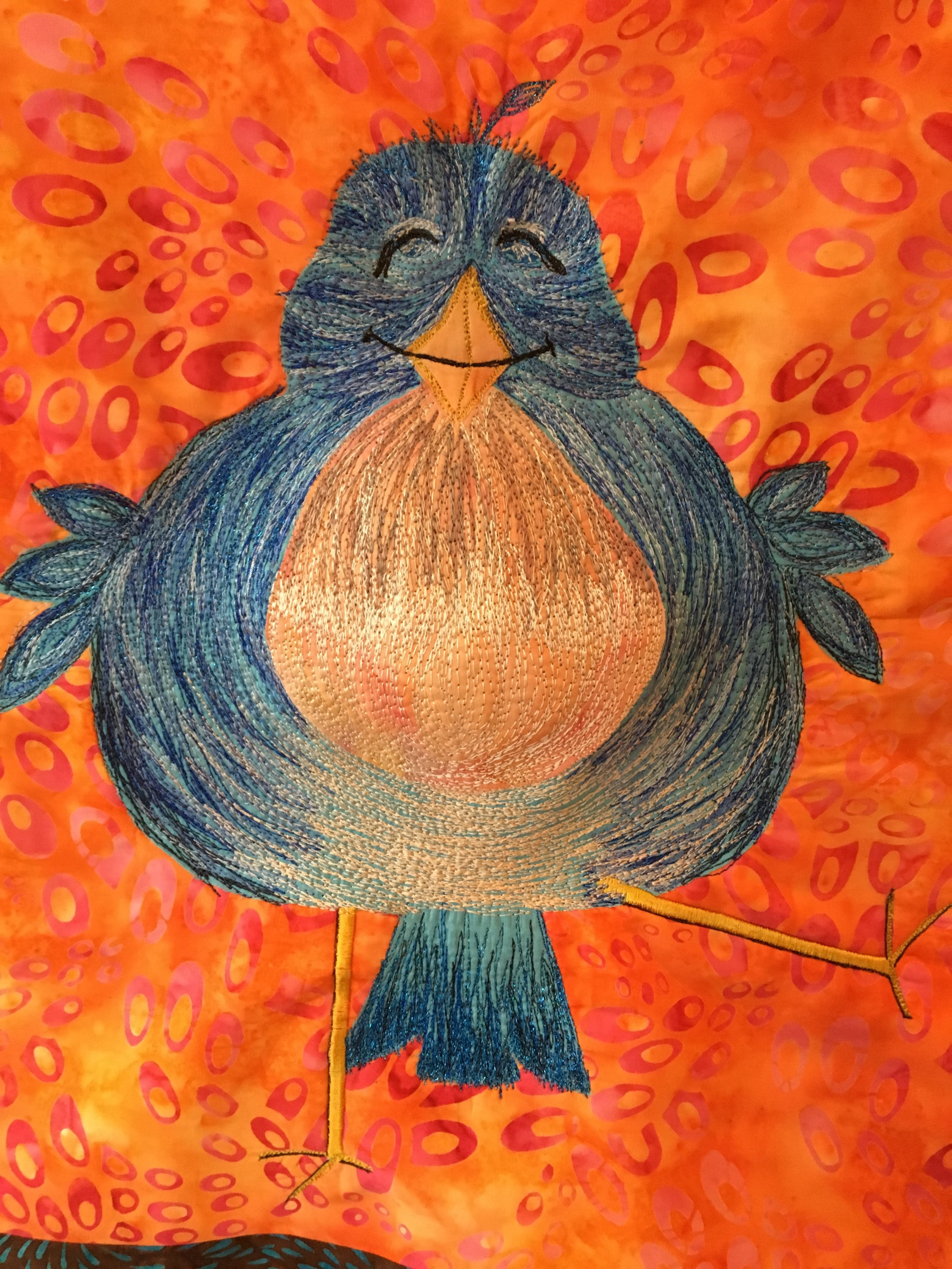 Blue Bird of Happiness. Joyce Henneberry.