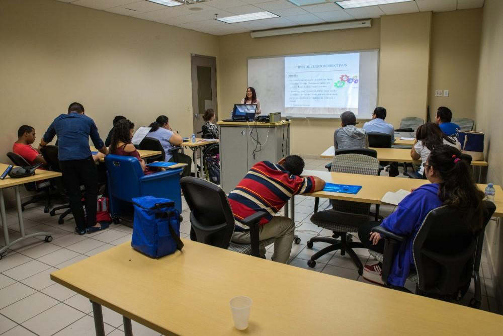 Angel and Miriam teach at Leadership Academy.