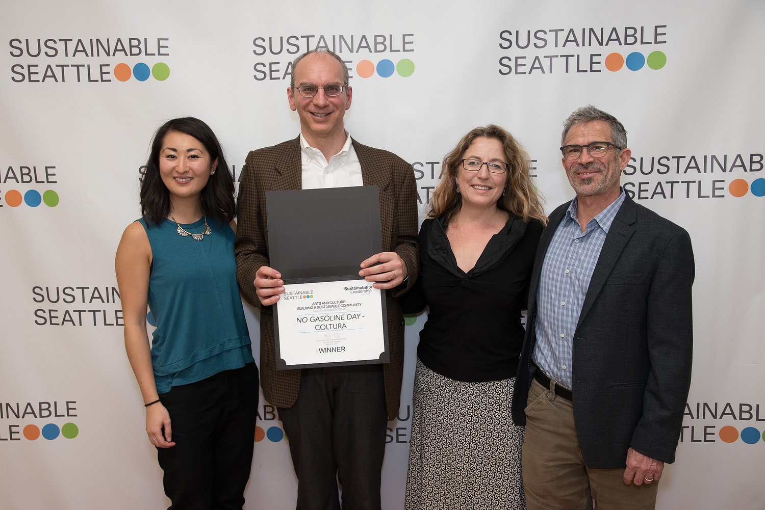 PROUD RECIPIENT OF THE 2017 SUSTAINABLE SEATTLE AWARD